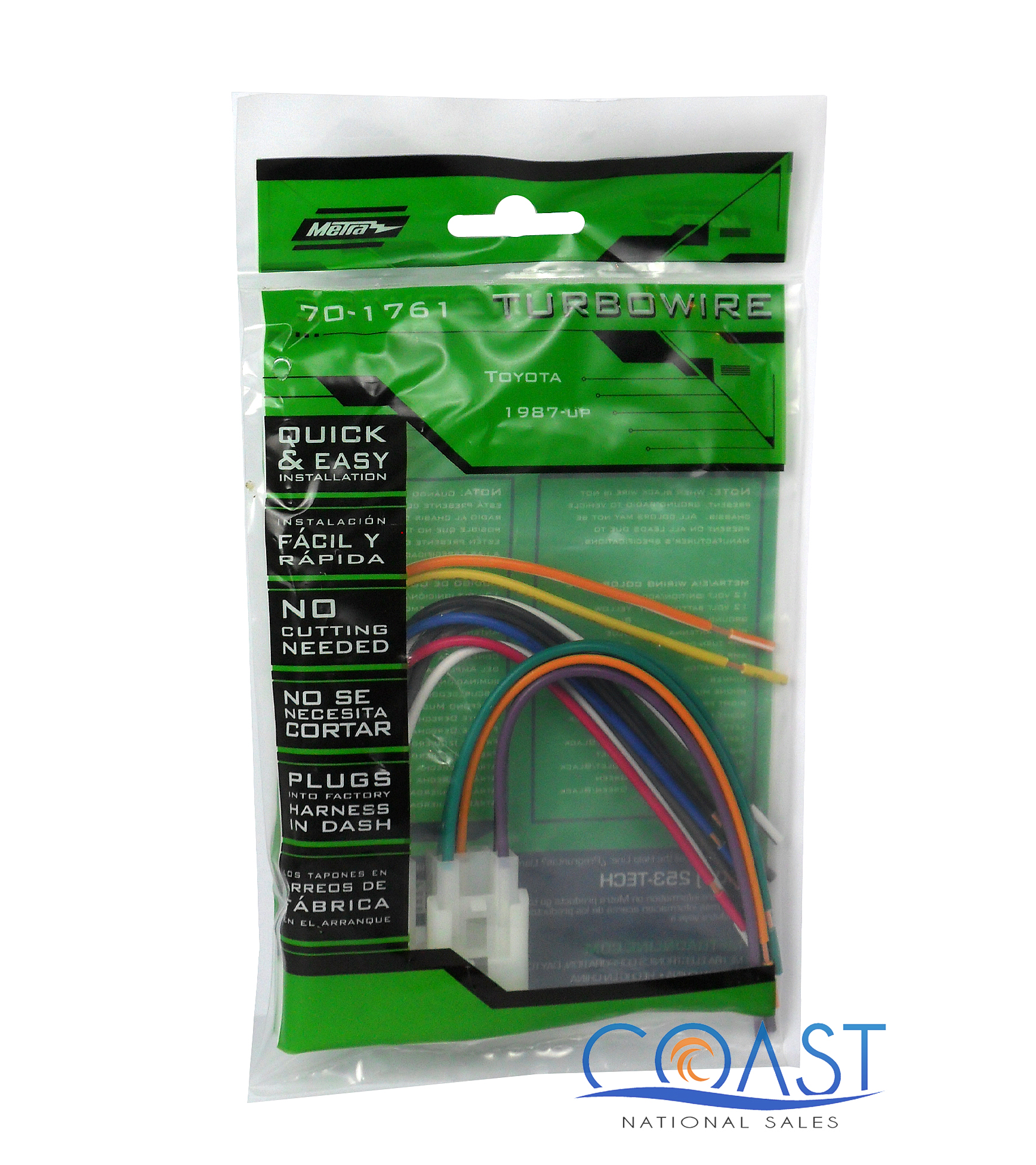 metra 70 1761 intergration harness for 1987 07 toyota scion vehicles ebay