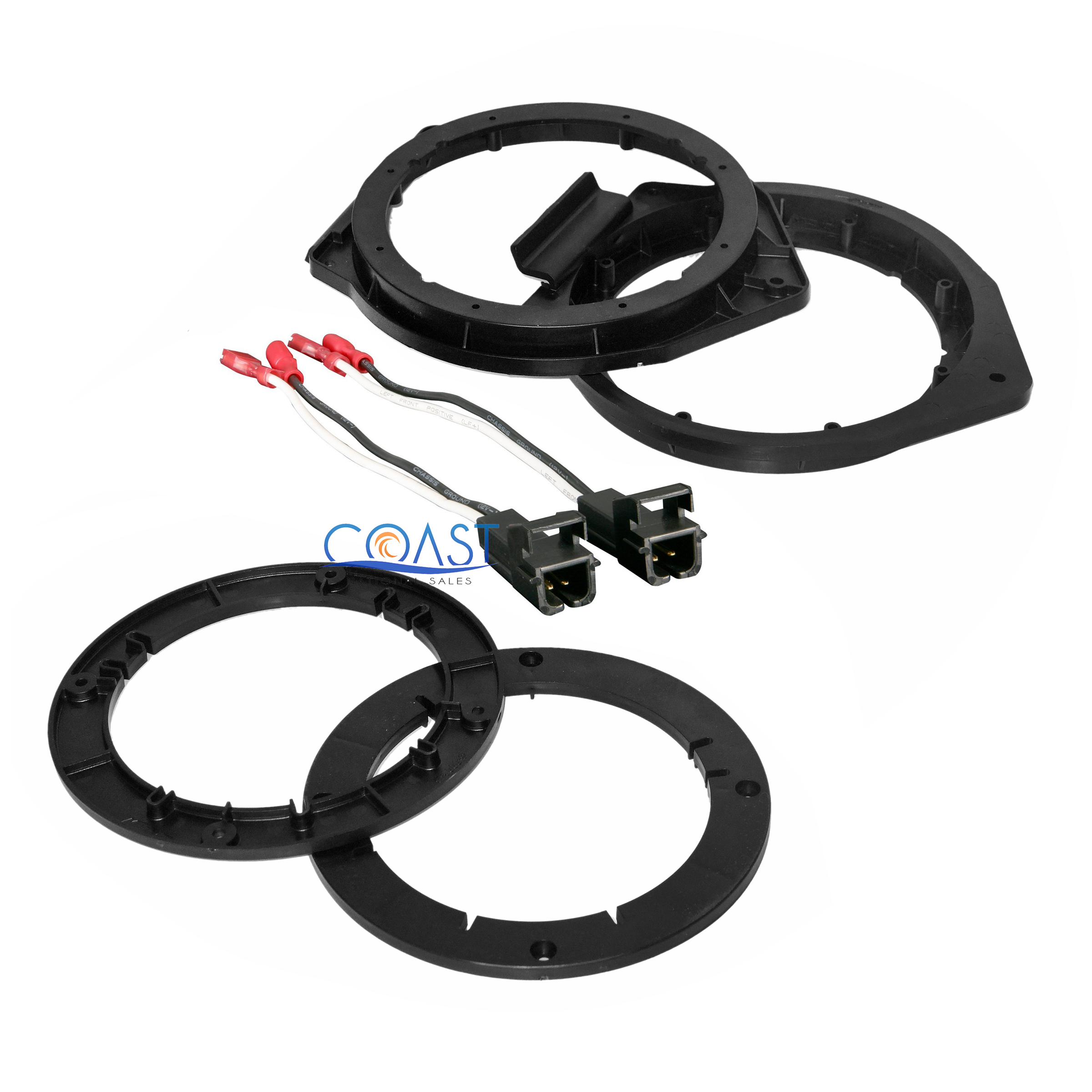Wiring Harness Adapter For Gm Vehicles : Metra car audio quot speaker adapter plates with