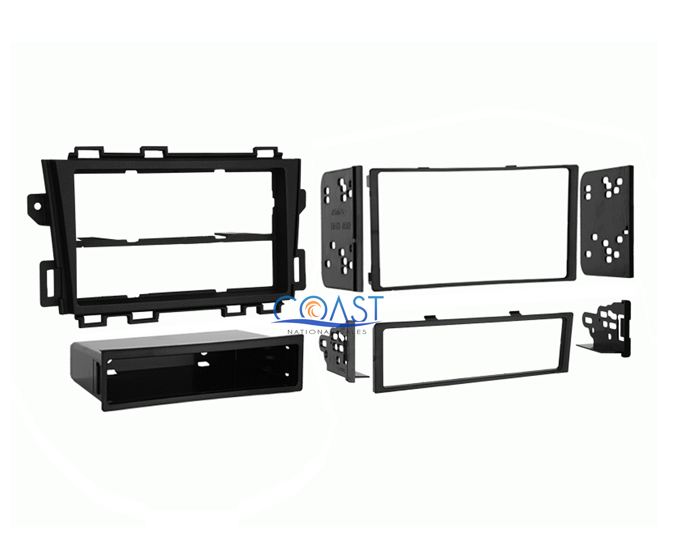 Metra 99 7426 Single Double DIN Install Dash Kit for 2009 Nissan Murano