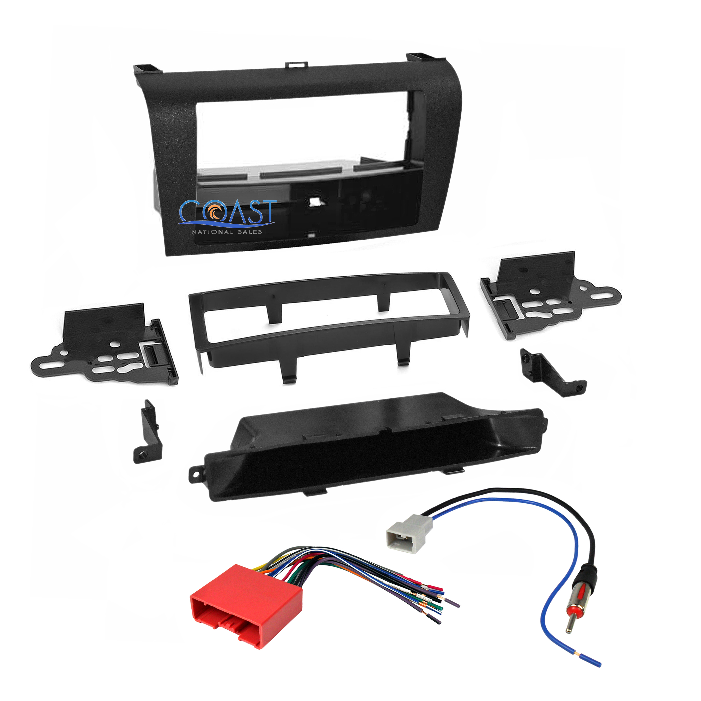 Mazda 3 Abs Wiring Harness : Metra car stereo radio dash kit wire harness antenna for