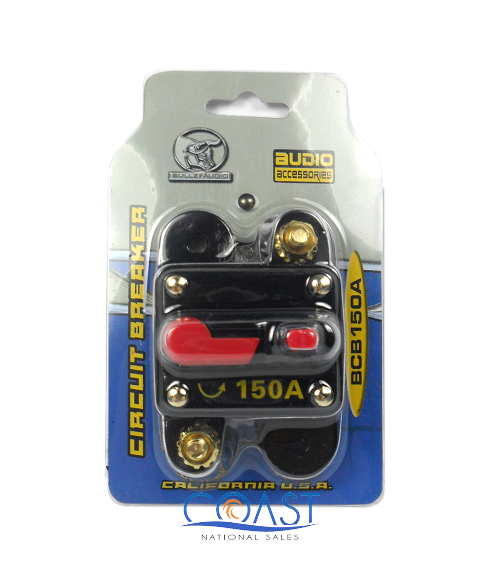 New Bullz 12 Volt 150 Amp Car Audio Circuit Breaker Stereo In Line