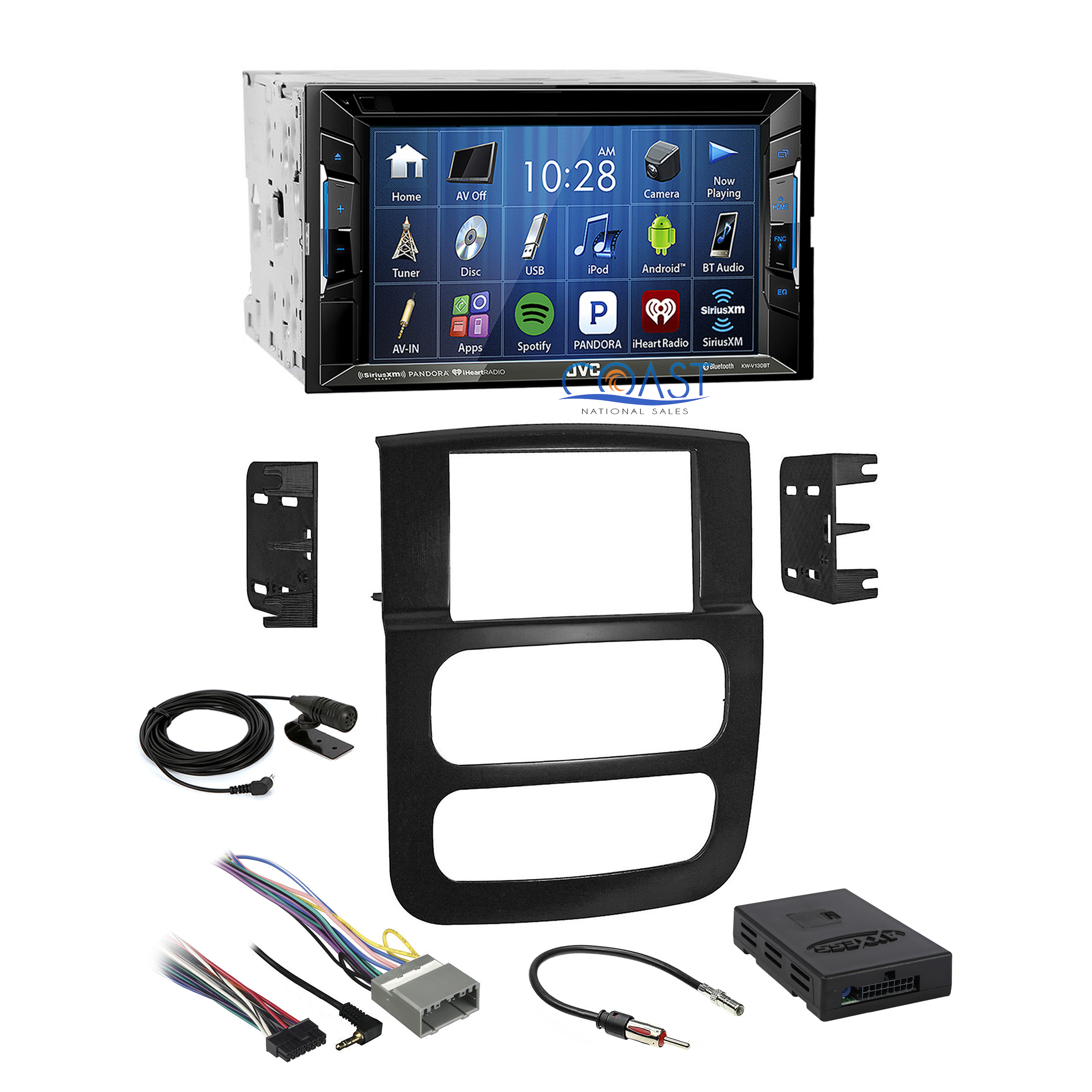 jvc car bluetooth sirius stereo dash kit amplifier harness. Black Bedroom Furniture Sets. Home Design Ideas