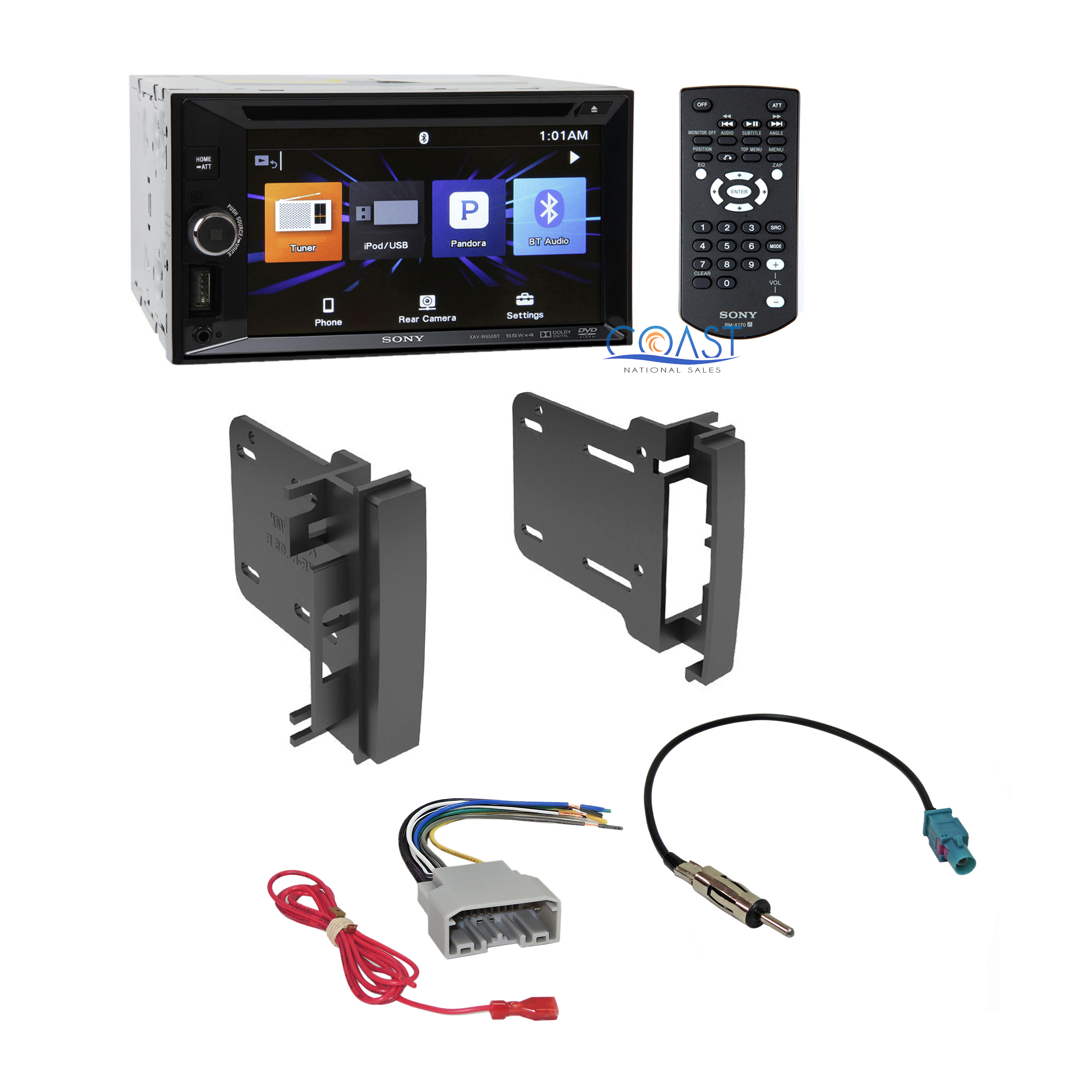 sony car radio stereo din dash kit wire harness for 2007 14 chrysler dodge jeep ebay
