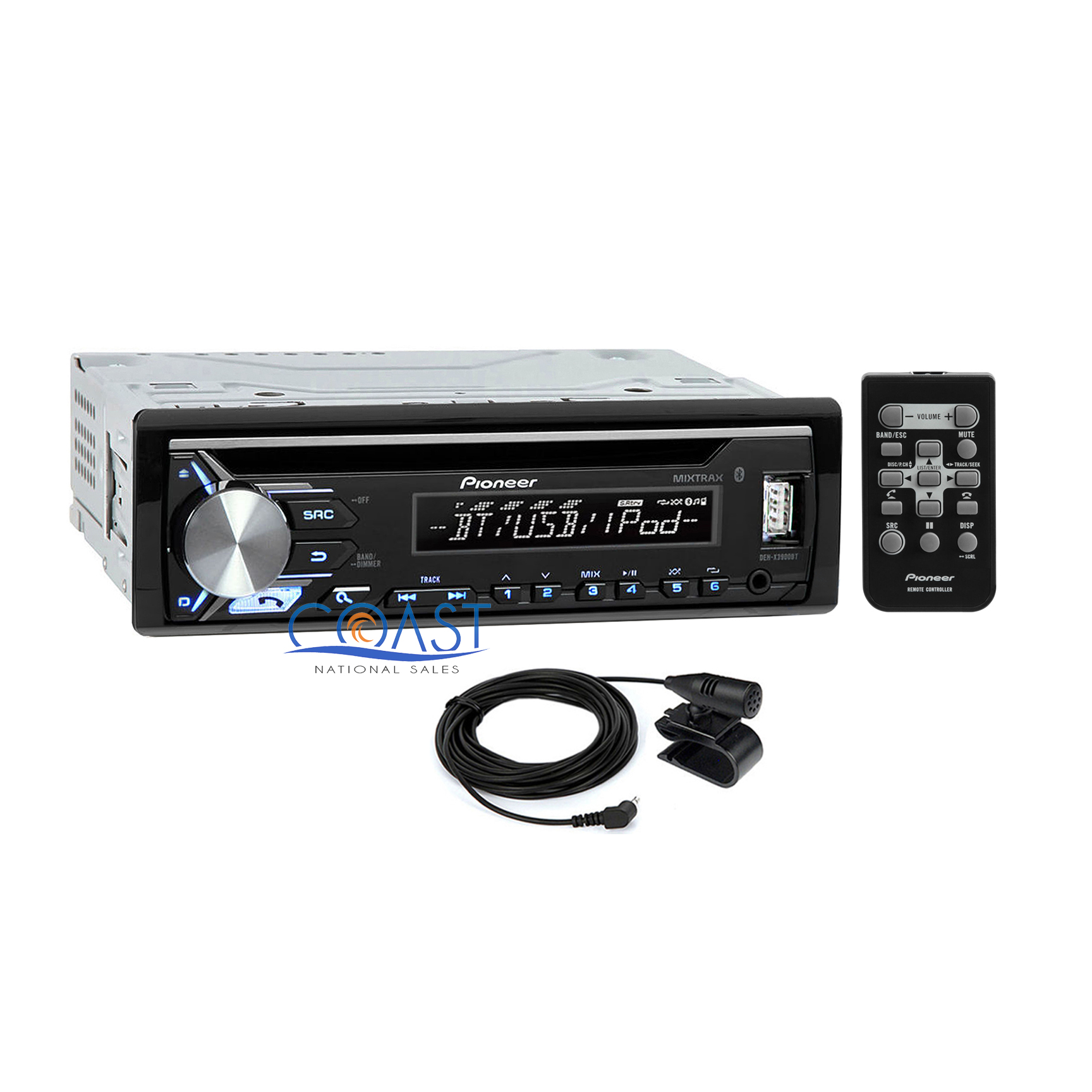 pioneer cd usb mp3 wma bluetooth car radio stereo receiver. Black Bedroom Furniture Sets. Home Design Ideas