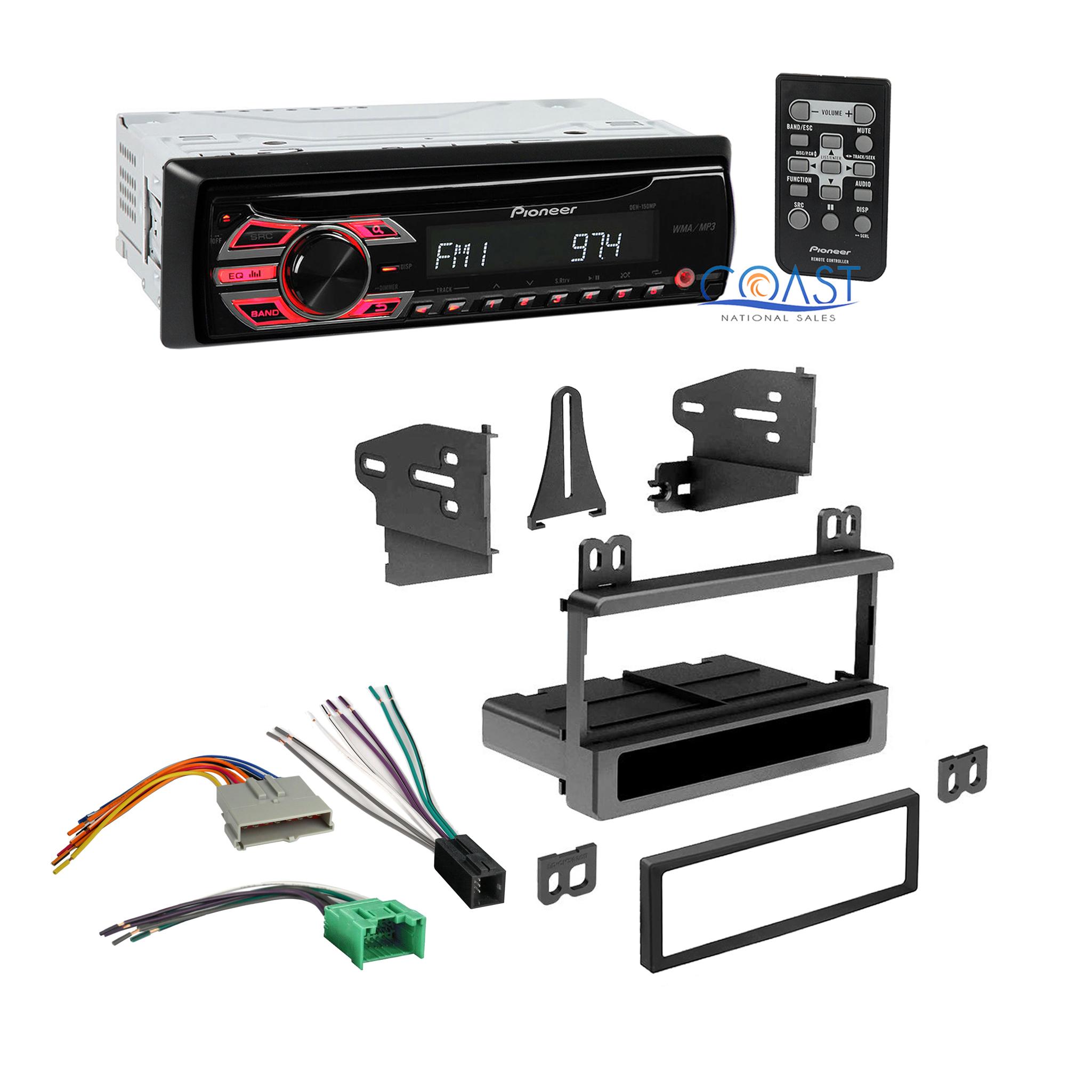 pioneer car radio stereo dash kit wire harness for ford lincoln mercury mazda ebay
