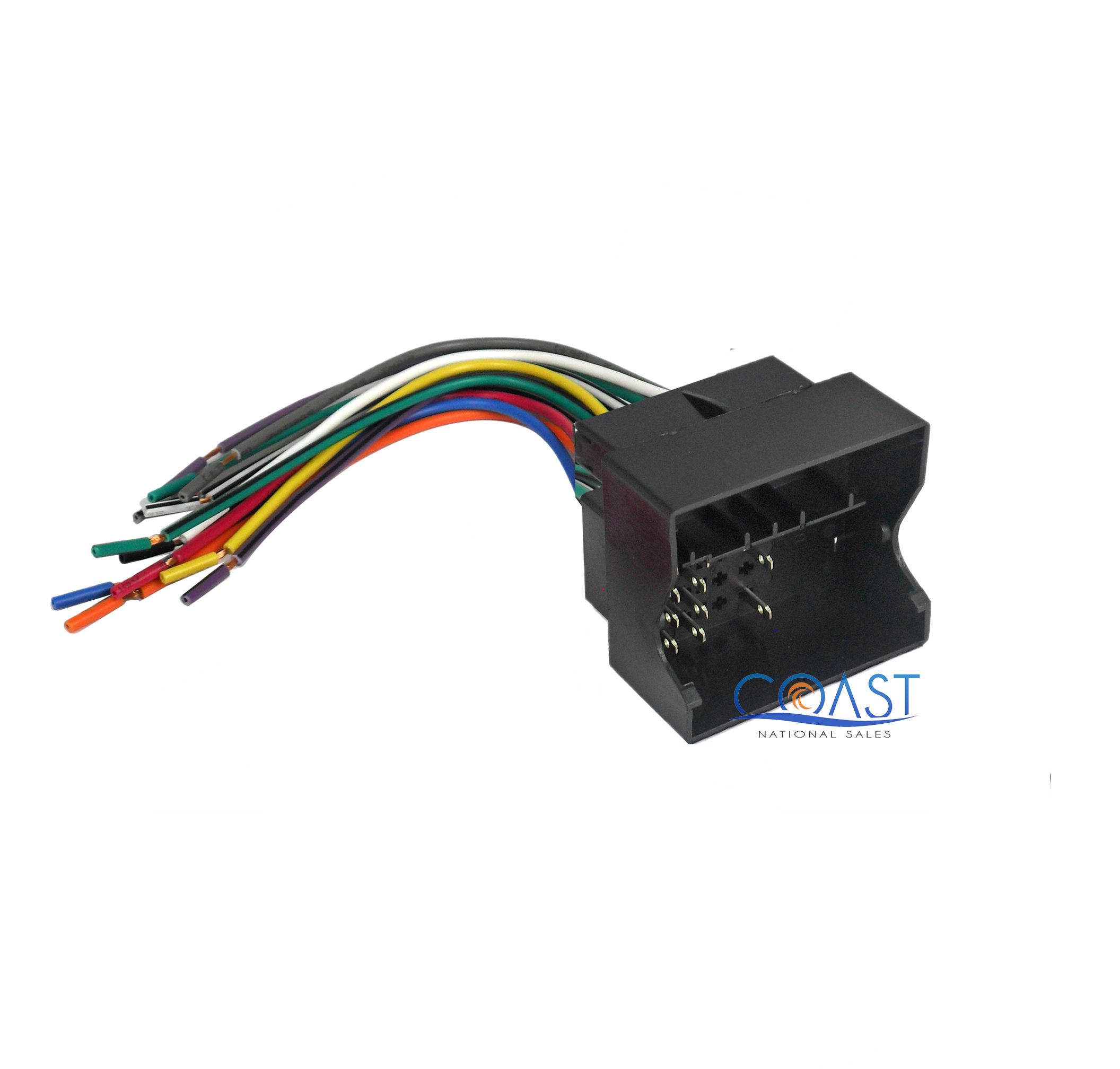 Car radio stereo install wire wiring harness plug for