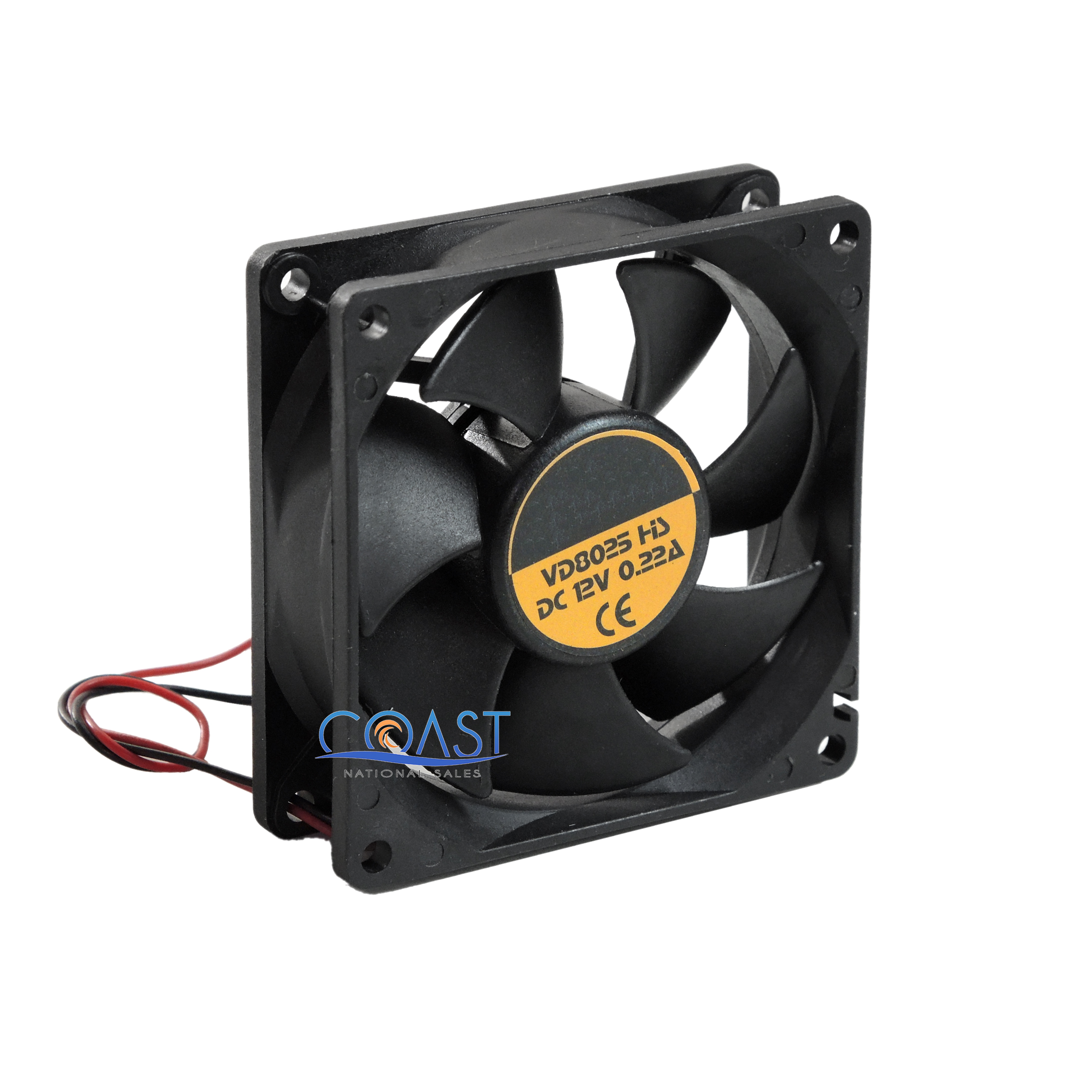 Main Components Of A Fan : Universal durable v square turbo cooling fan for