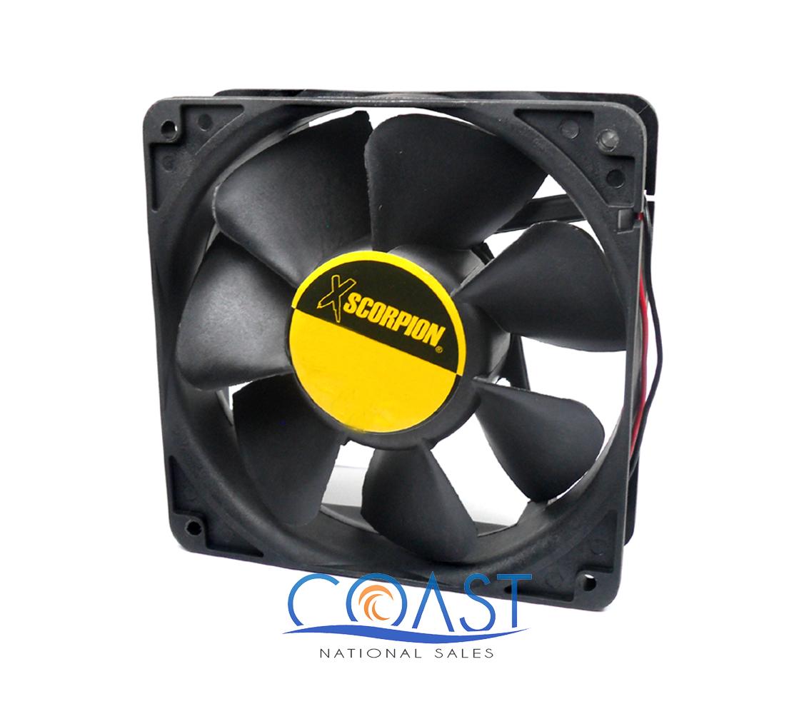Universal 6 12 volt square cooling fan 1 5 depth fan615 for 12 volt window fan