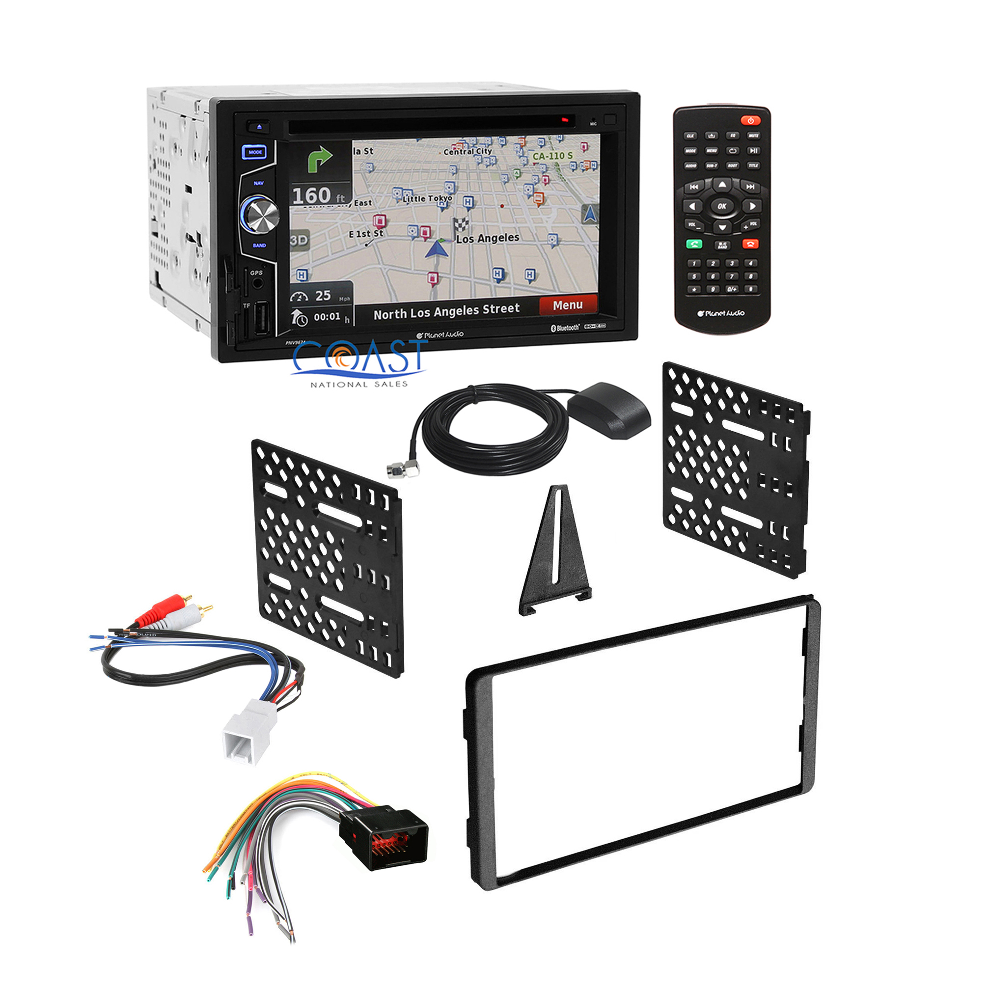 planet audio wiring diagram planet audio wiring harness planet audio car radio stereo + dash kit harness for 98-up ...