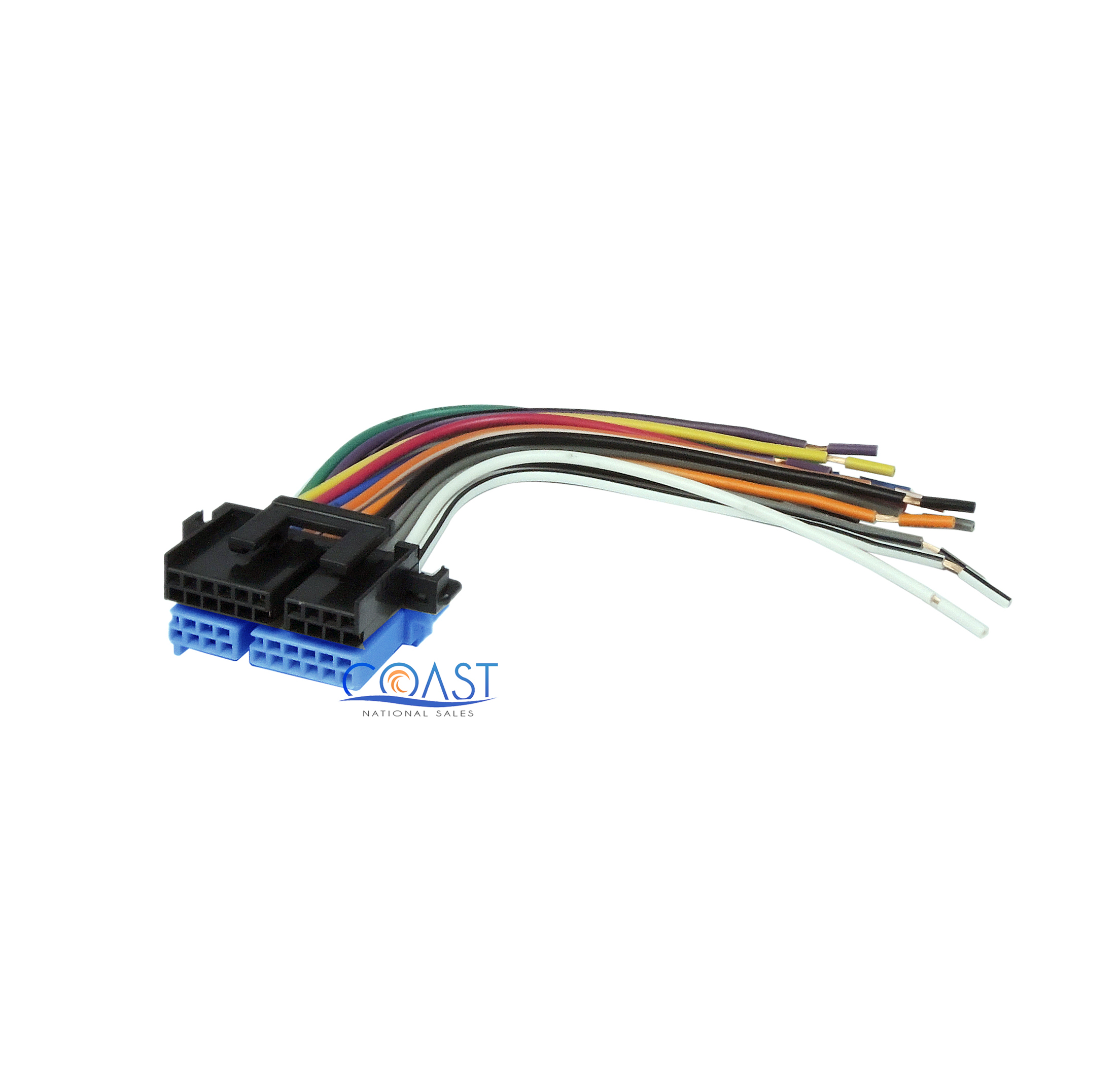 oem wiring harness connectors car stereo wiring harness to factory radio 1988 2005 buick chevy main image
