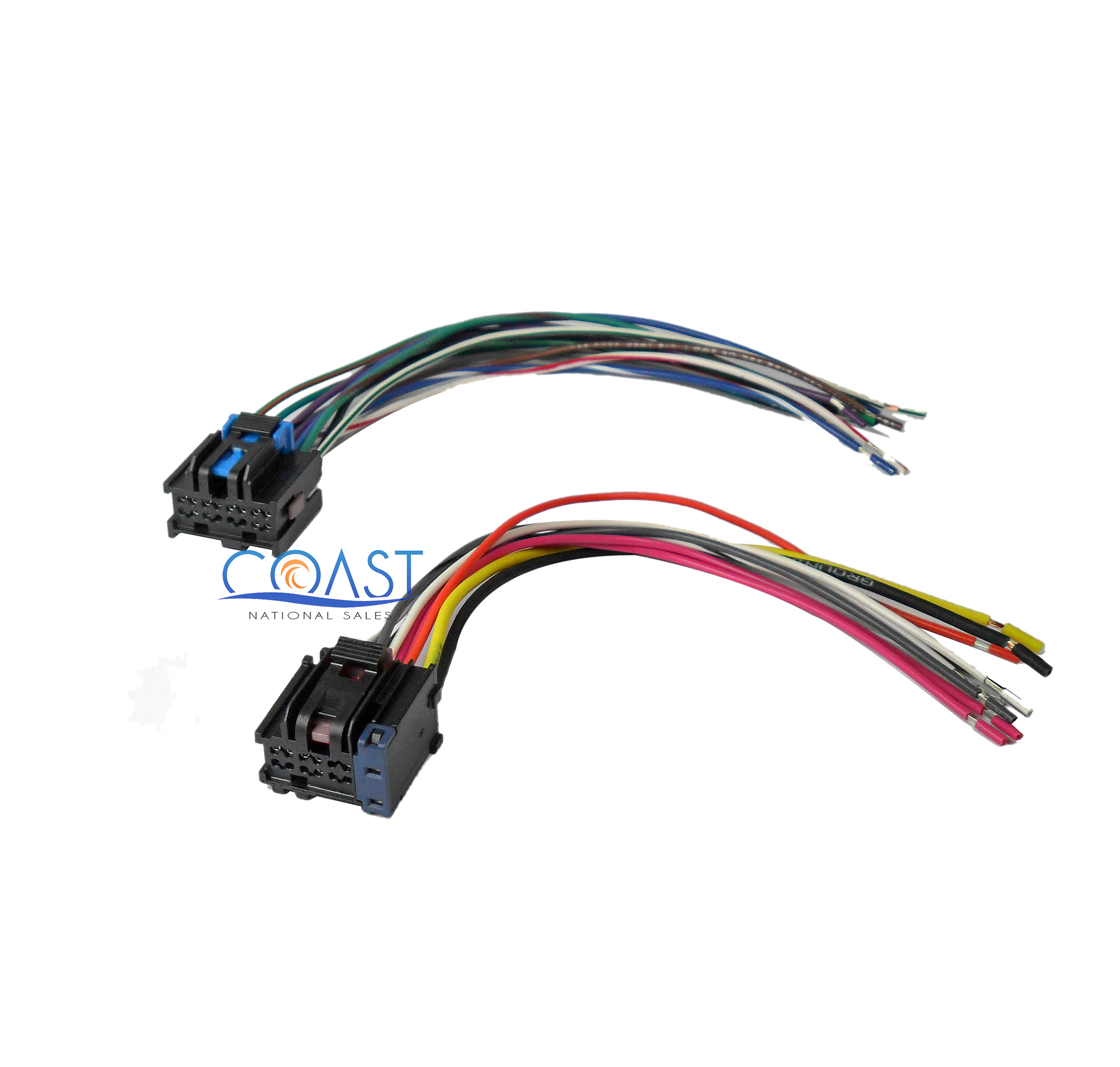 car stereo wiring harness to factory radio for 2005 2010 chevy pontiac saturn