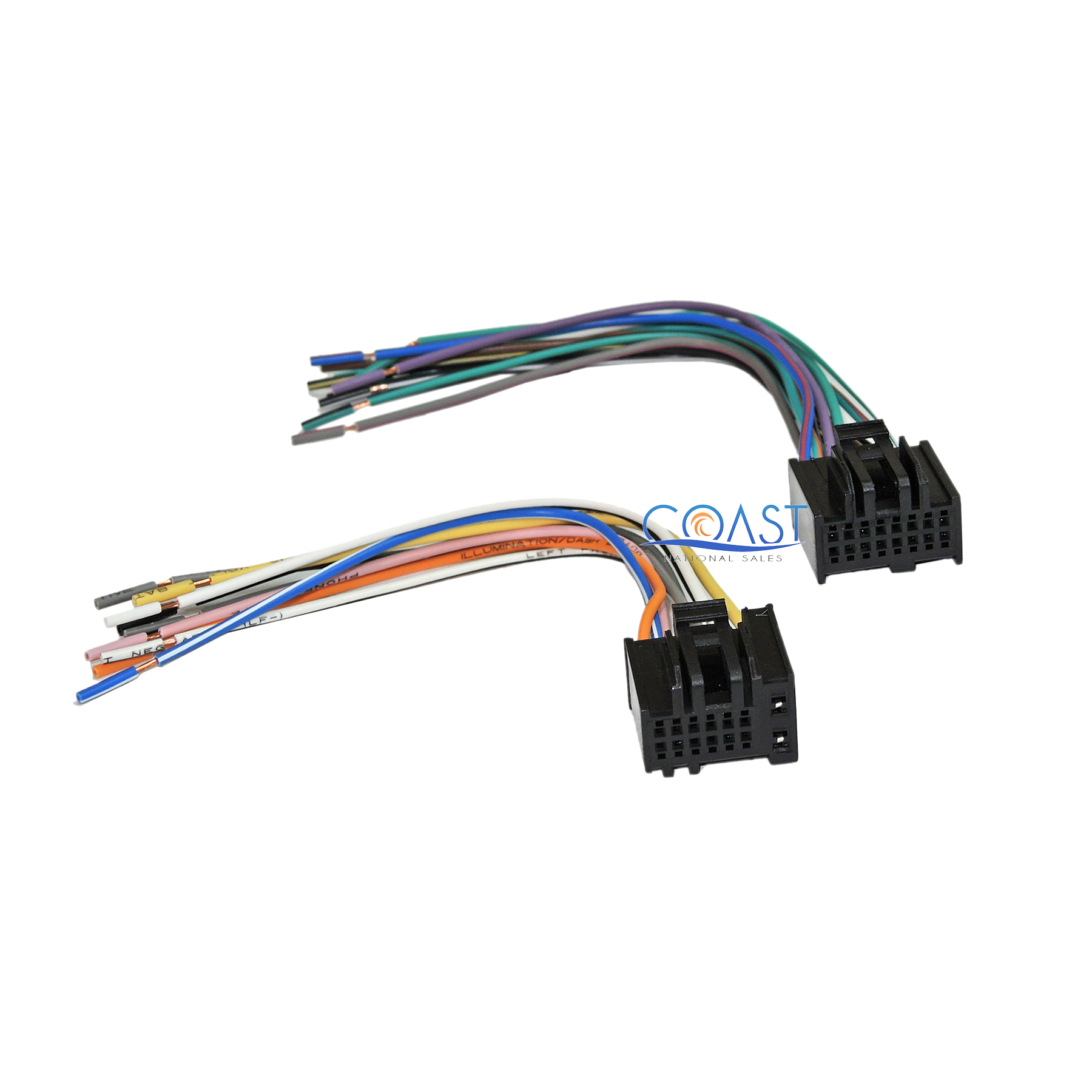 car radio stereo wire wiring harness to factory radio for 2005 main image