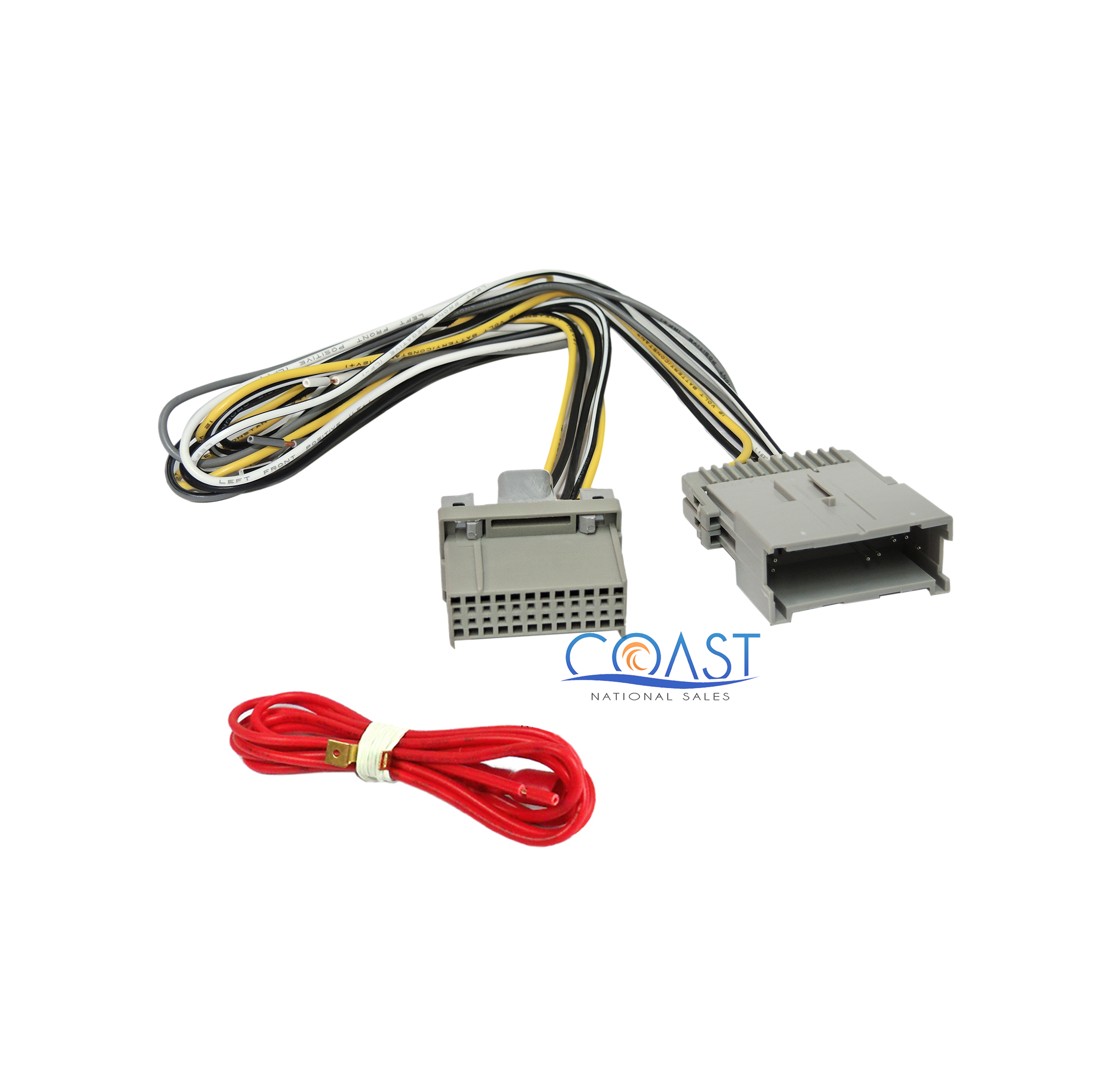 non-factory radio installation wiring harness for 2003-up ... gm factory radio wiring diagram
