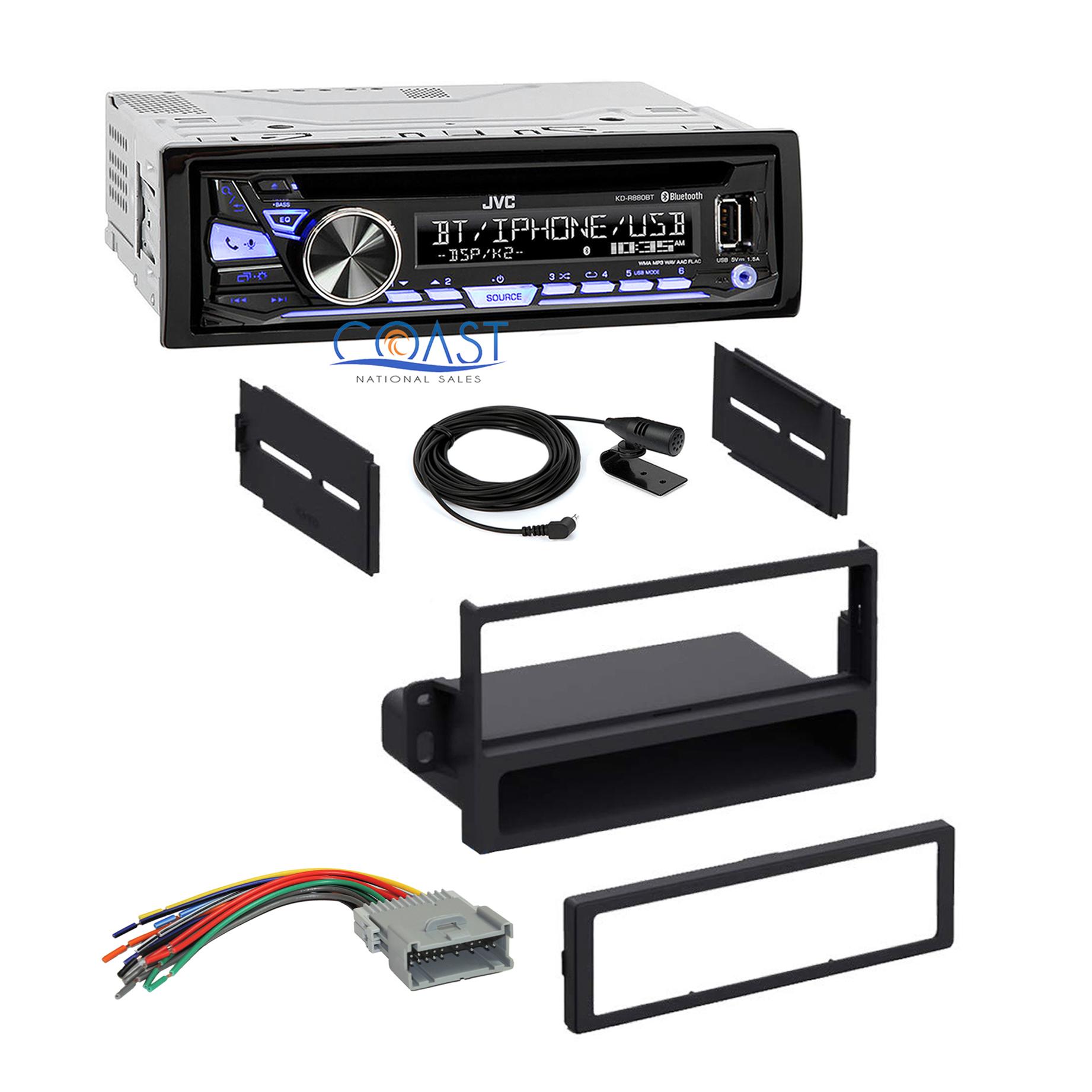 jvc bluetooth car radio stereo dash kit harness for 2000. Black Bedroom Furniture Sets. Home Design Ideas