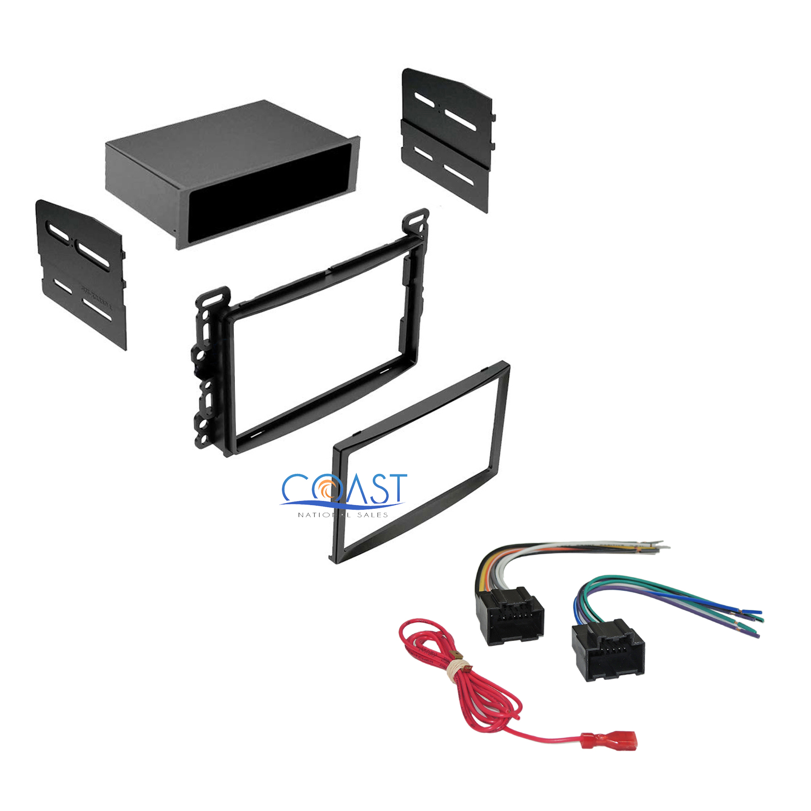 Wiring Harness Kit For Radio : Car radio stereo dash kit w wiring harness for