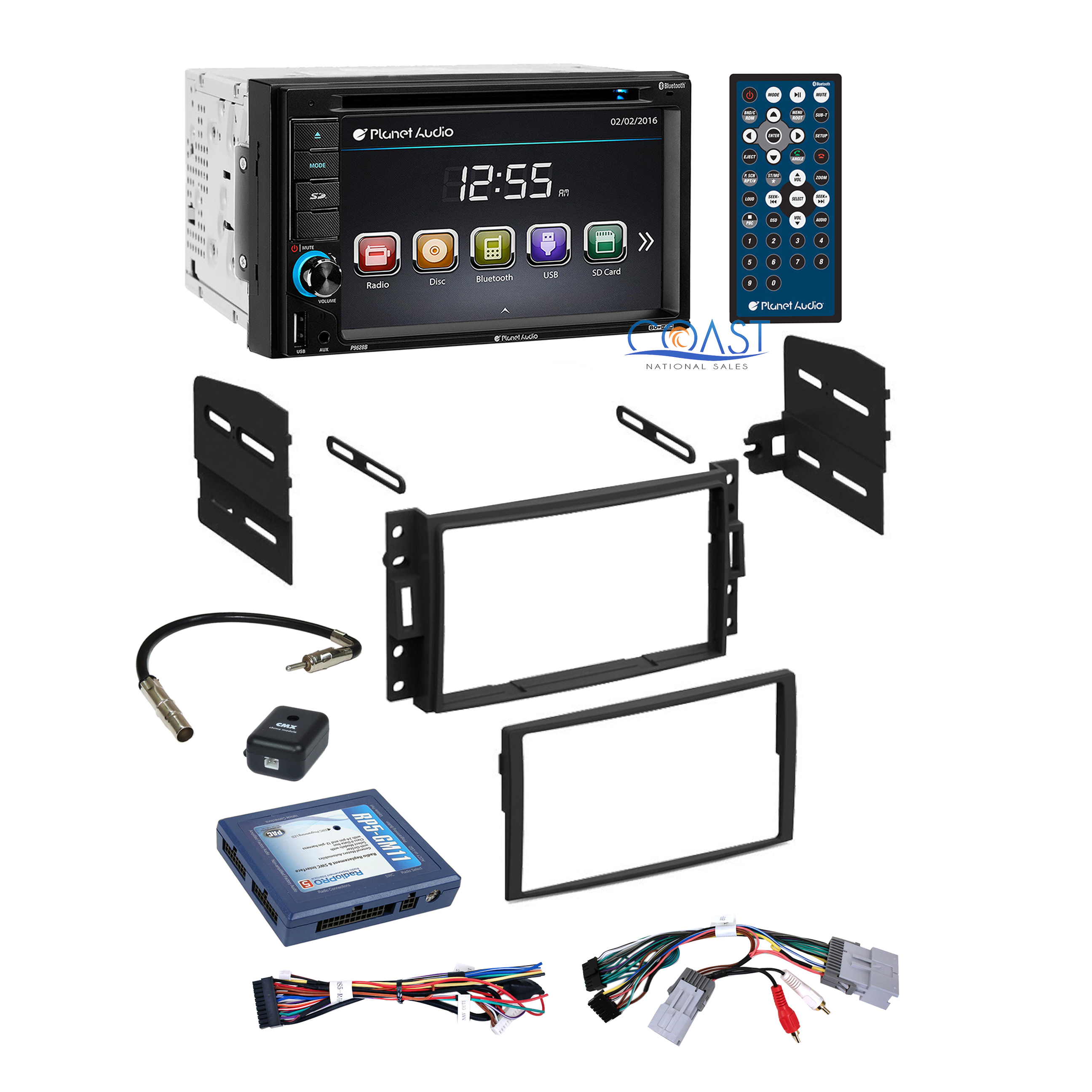 planet audio car stereo dash kit bose wire harness for chevrolet pontiac saturn ebay