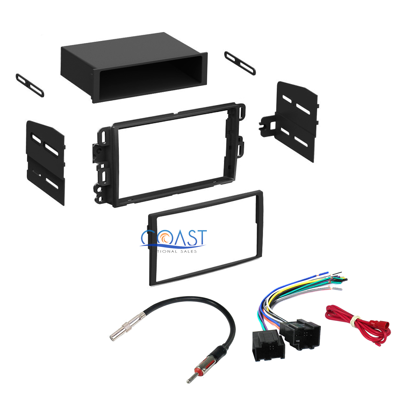 Xscorpion car stereo mounting dash kit 11