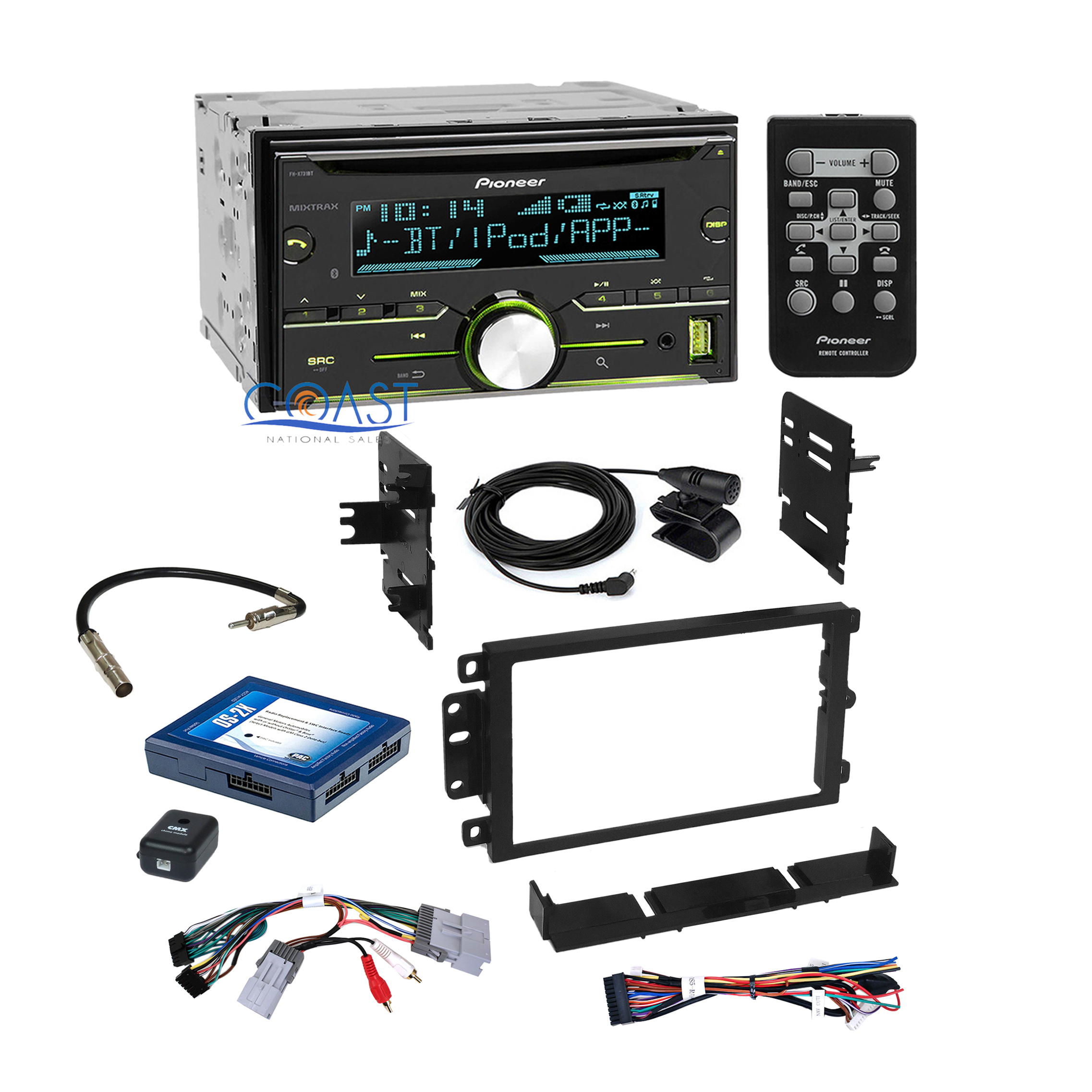 pioneer stereo dash kit bose onstar interface harness for 2000 up gm chevrolet ebay