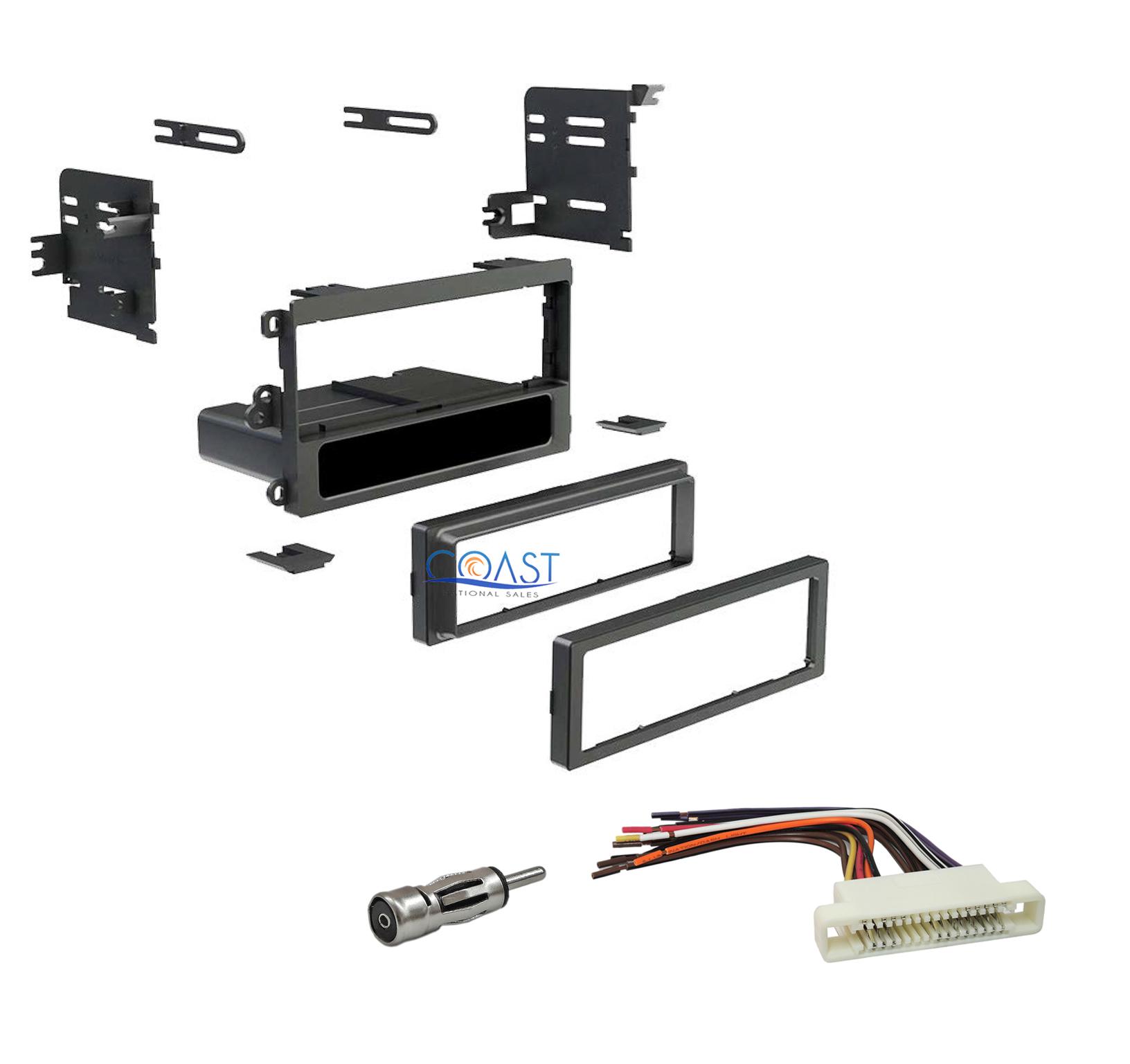 single din stereo install dash kit harness antenna for. Black Bedroom Furniture Sets. Home Design Ideas