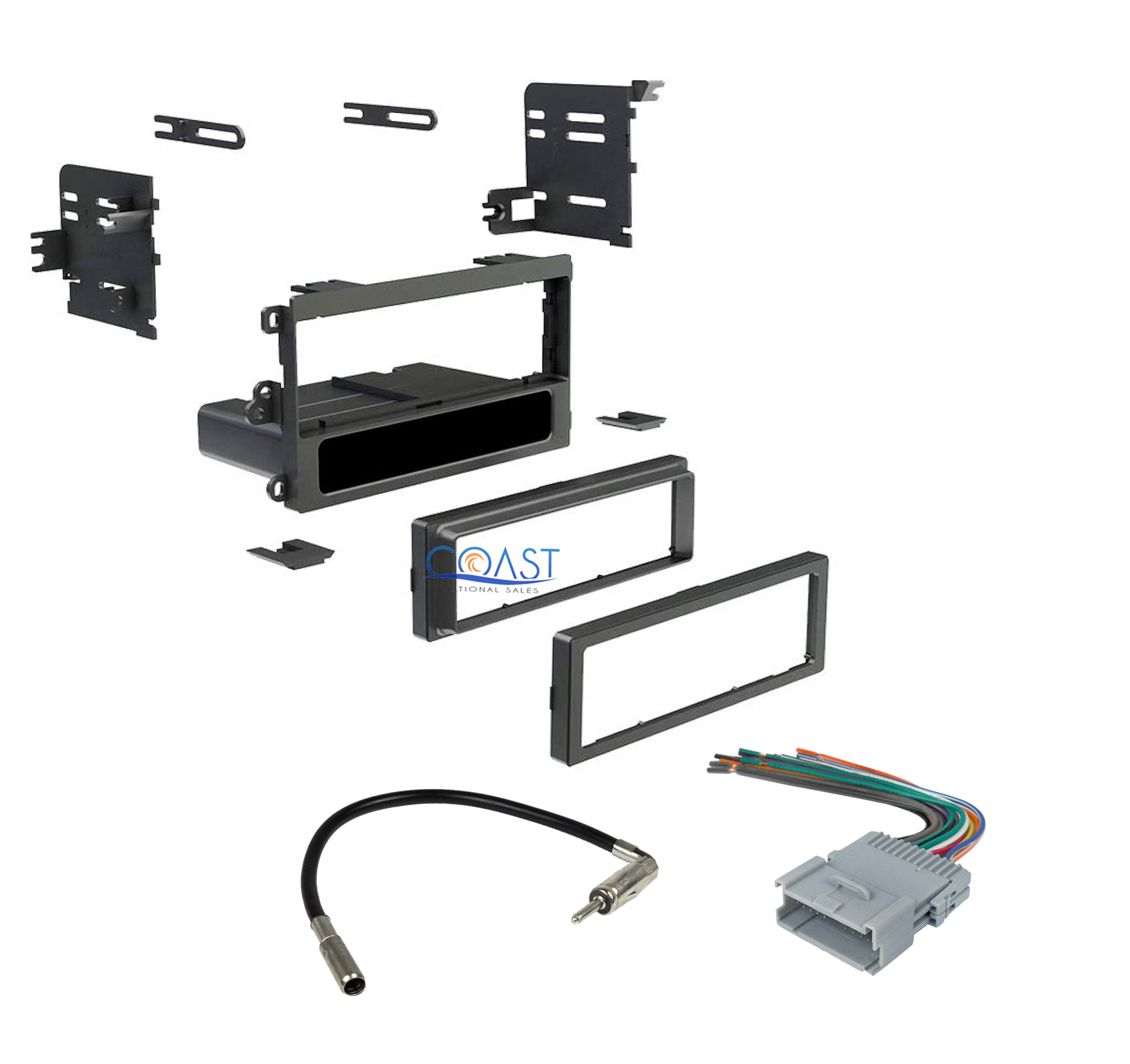 car stereo single din install dash kit package for buick. Black Bedroom Furniture Sets. Home Design Ideas