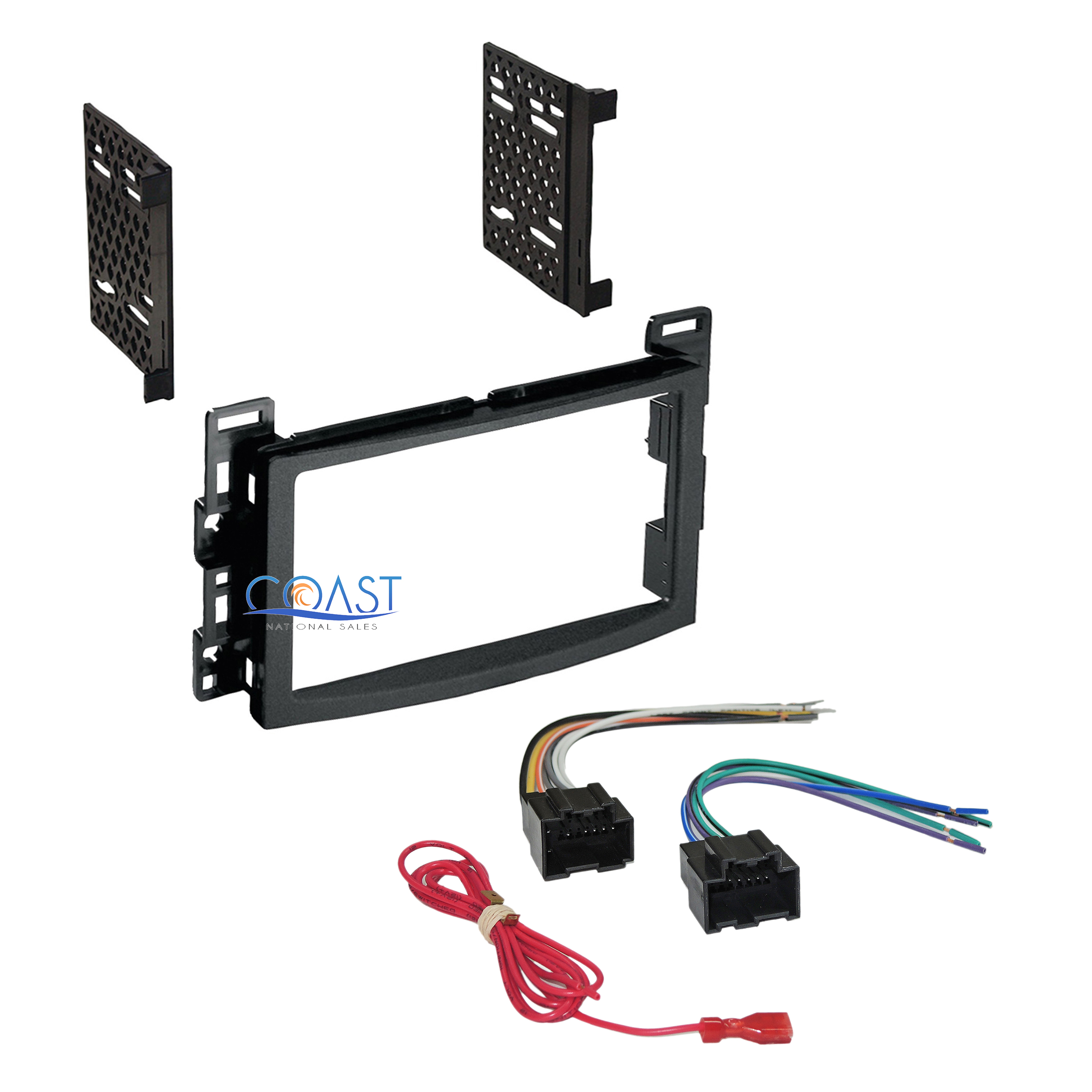 Metra 70 2104 Radio Wiring Harness For 06 Up Gm : Car radio stereo ddin dash kit wire harness for