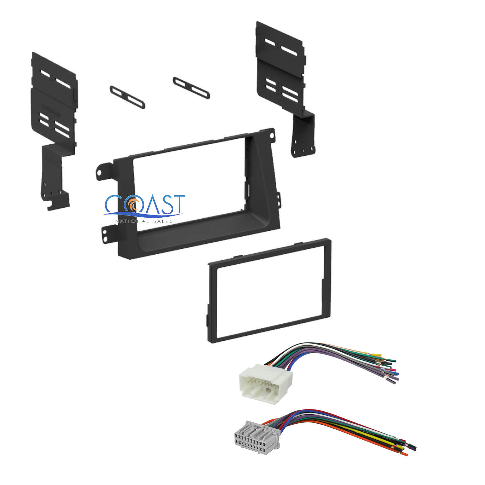 Honda Ridgeline Instrument Panel Lights: Single Double DIN Car Stereo Dash Kit With Harness For
