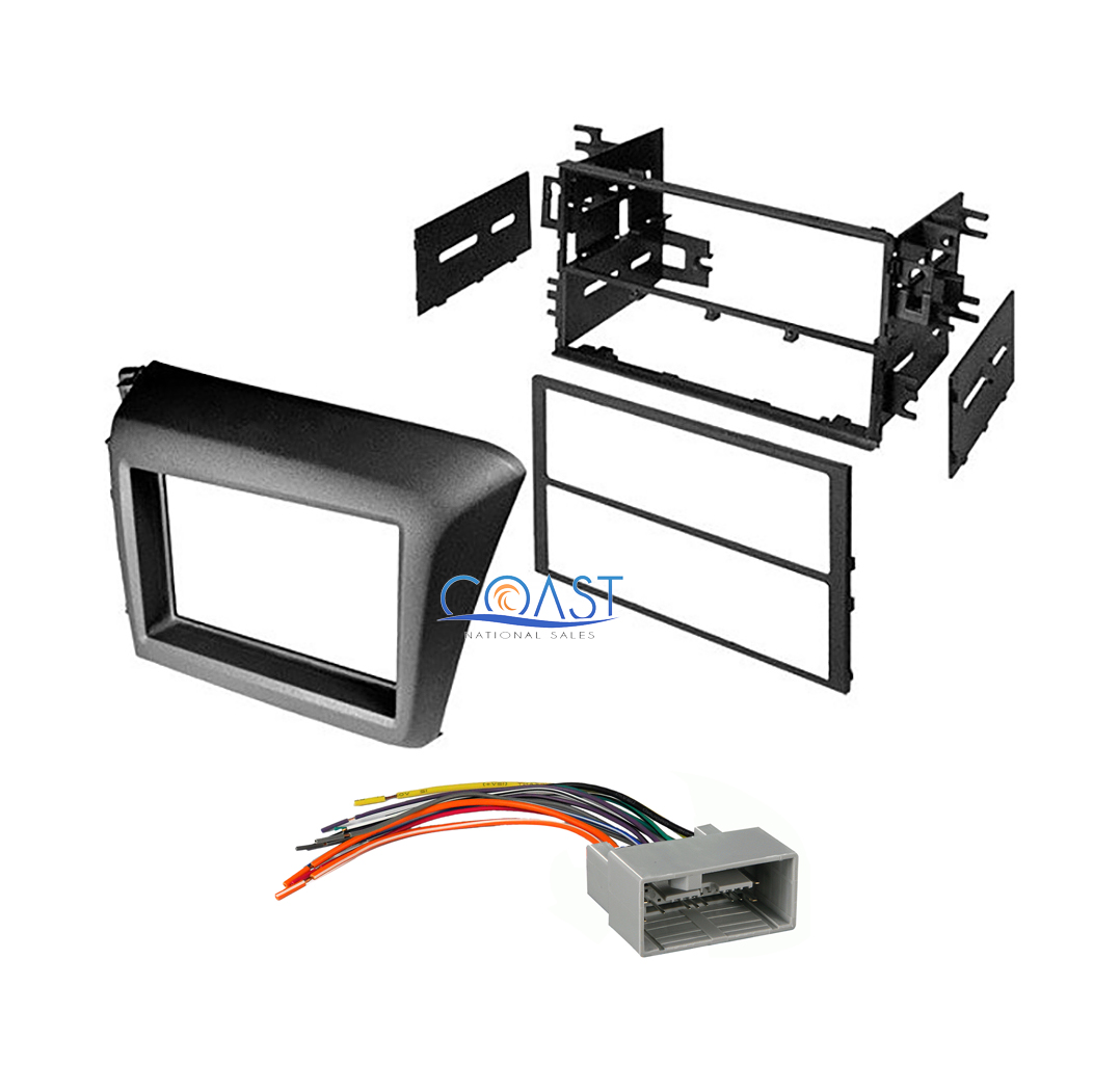 2012 Honda Civic Radio Wiring Harness : Car stereo radio single double din dash kit harness for