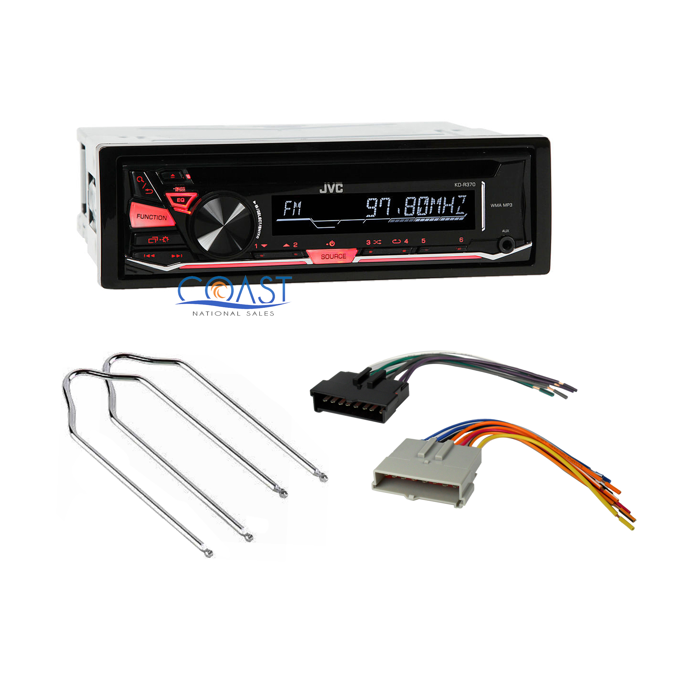 Jvc Car Radio Stereo Wire Harness Radio Remover For Ford Mercury Mazda Kd