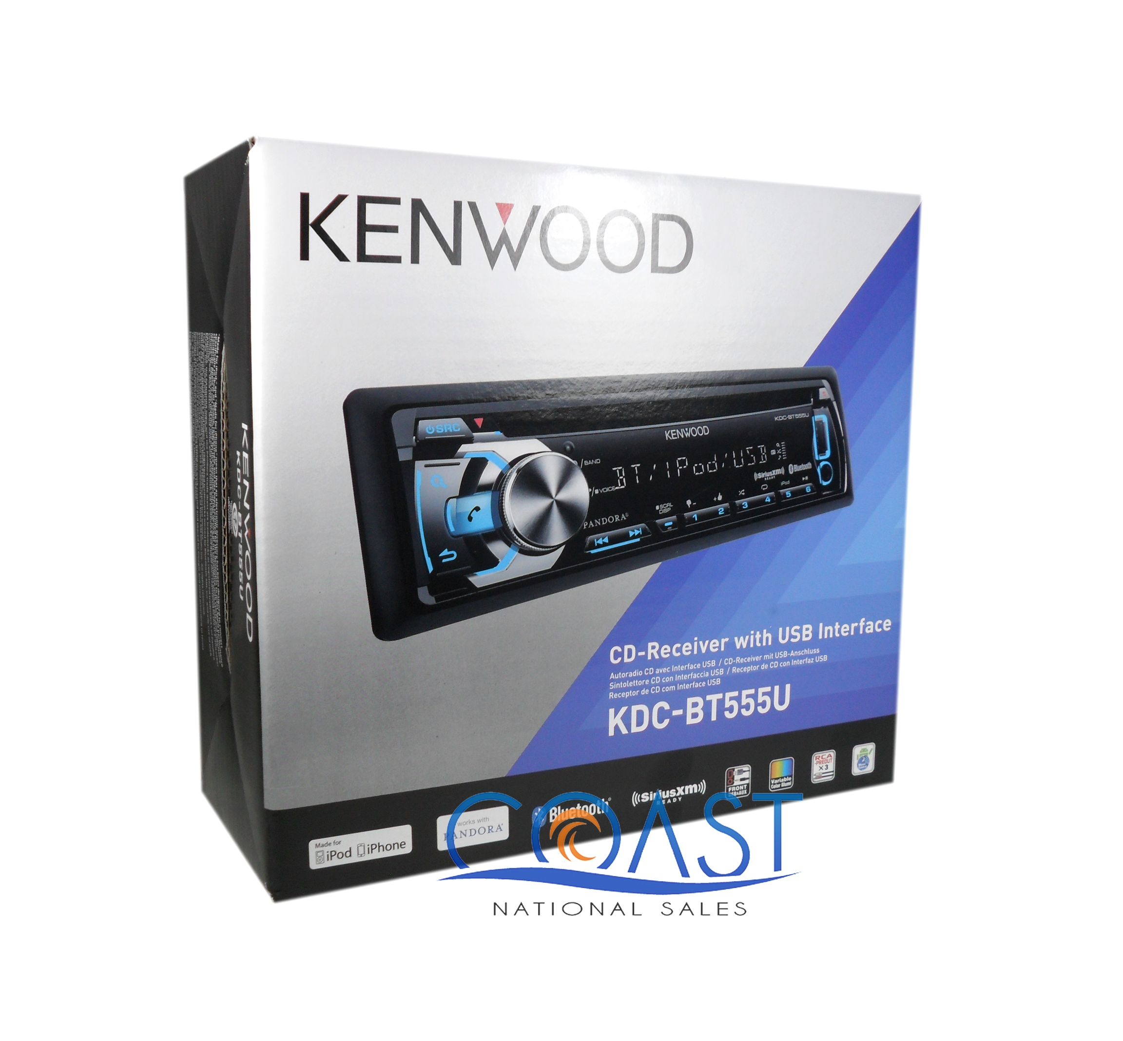 kenwood kdc-bt848u how to play music via bluetooth