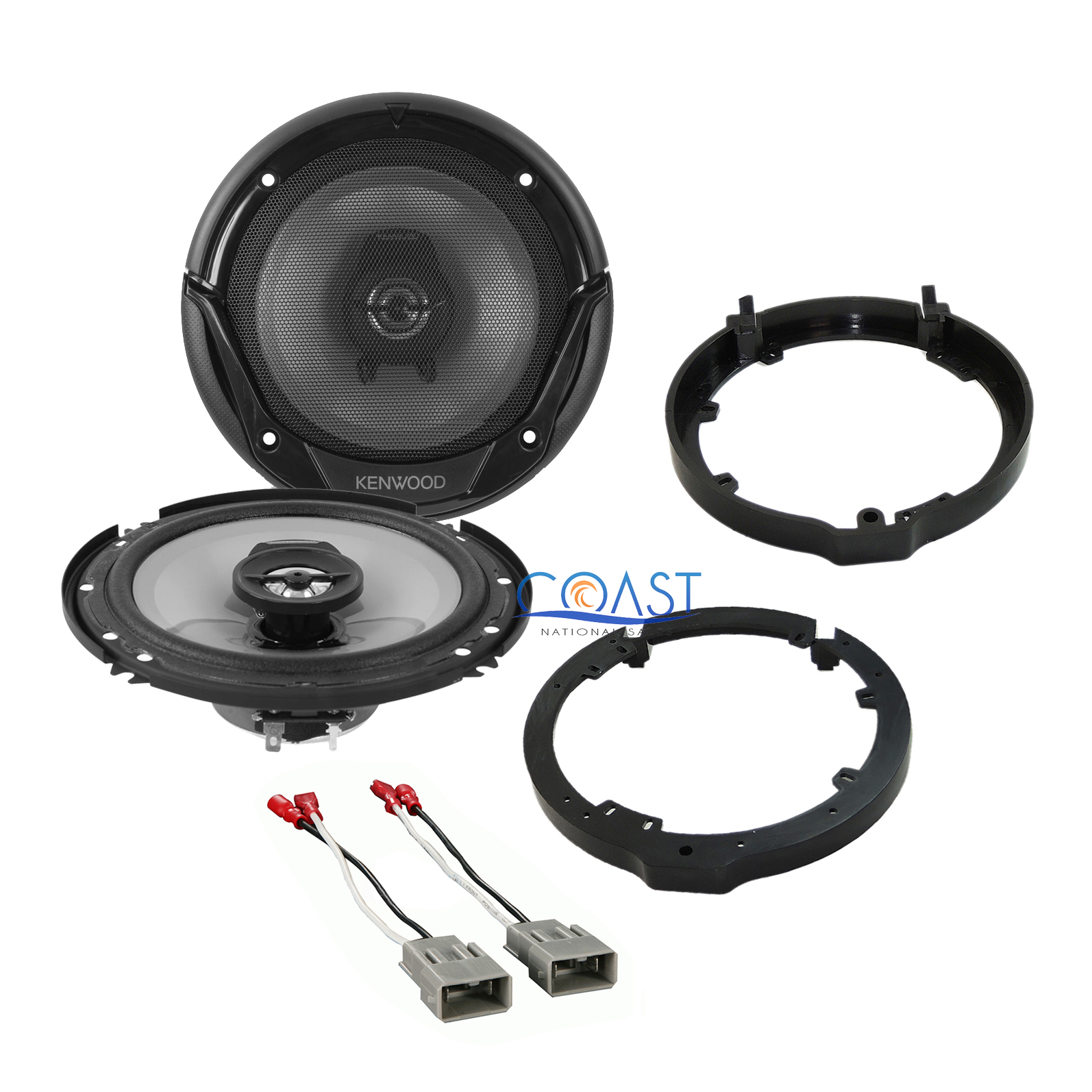 Kenwood quot car stereo speaker adapter wire
