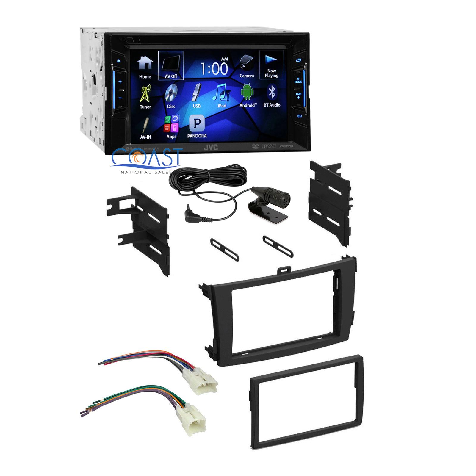 jvc car radio stereo din dash kit wire harness for 09 13 toyota corolla ebay