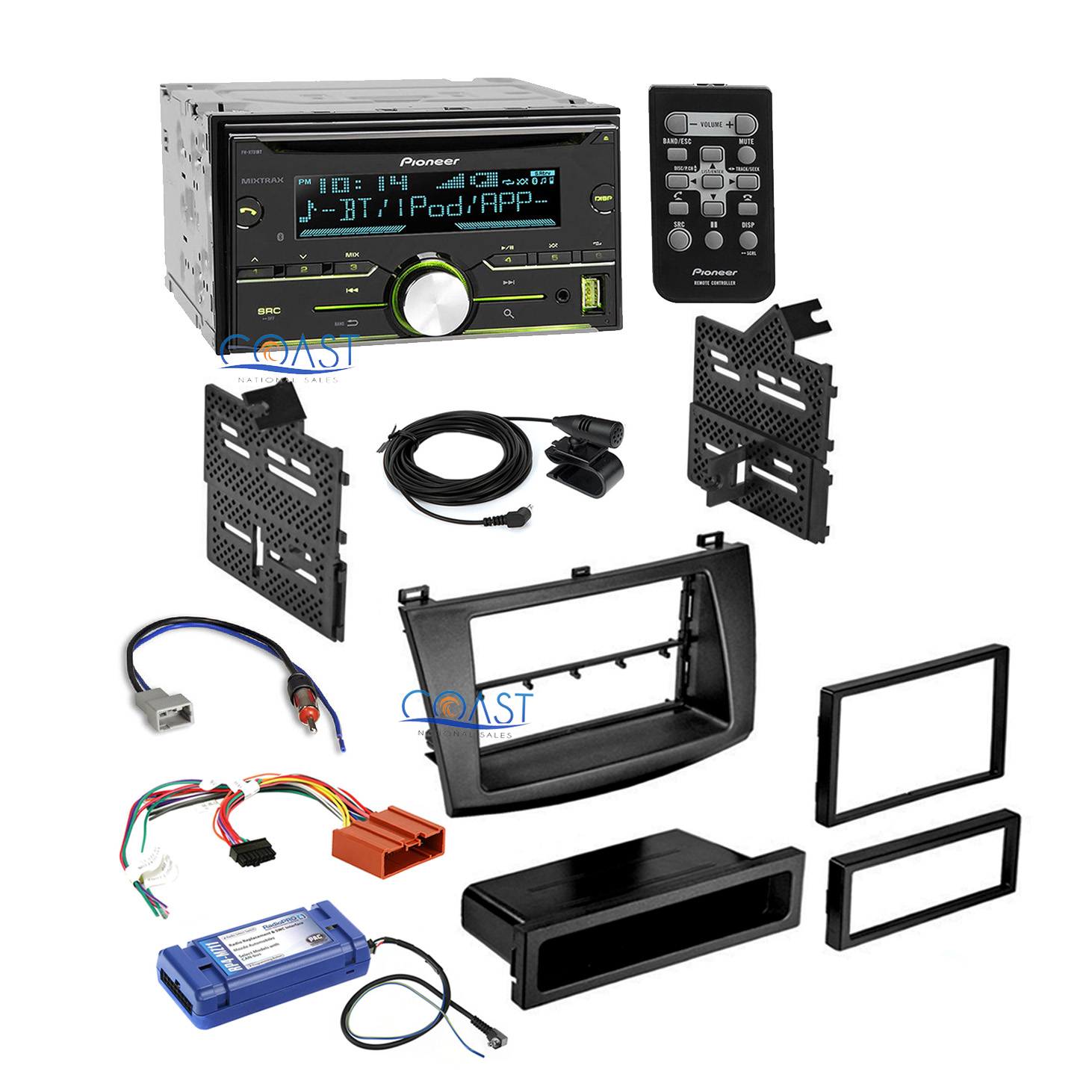 pioneer car radio stereo dash kit harness interface swc. Black Bedroom Furniture Sets. Home Design Ideas
