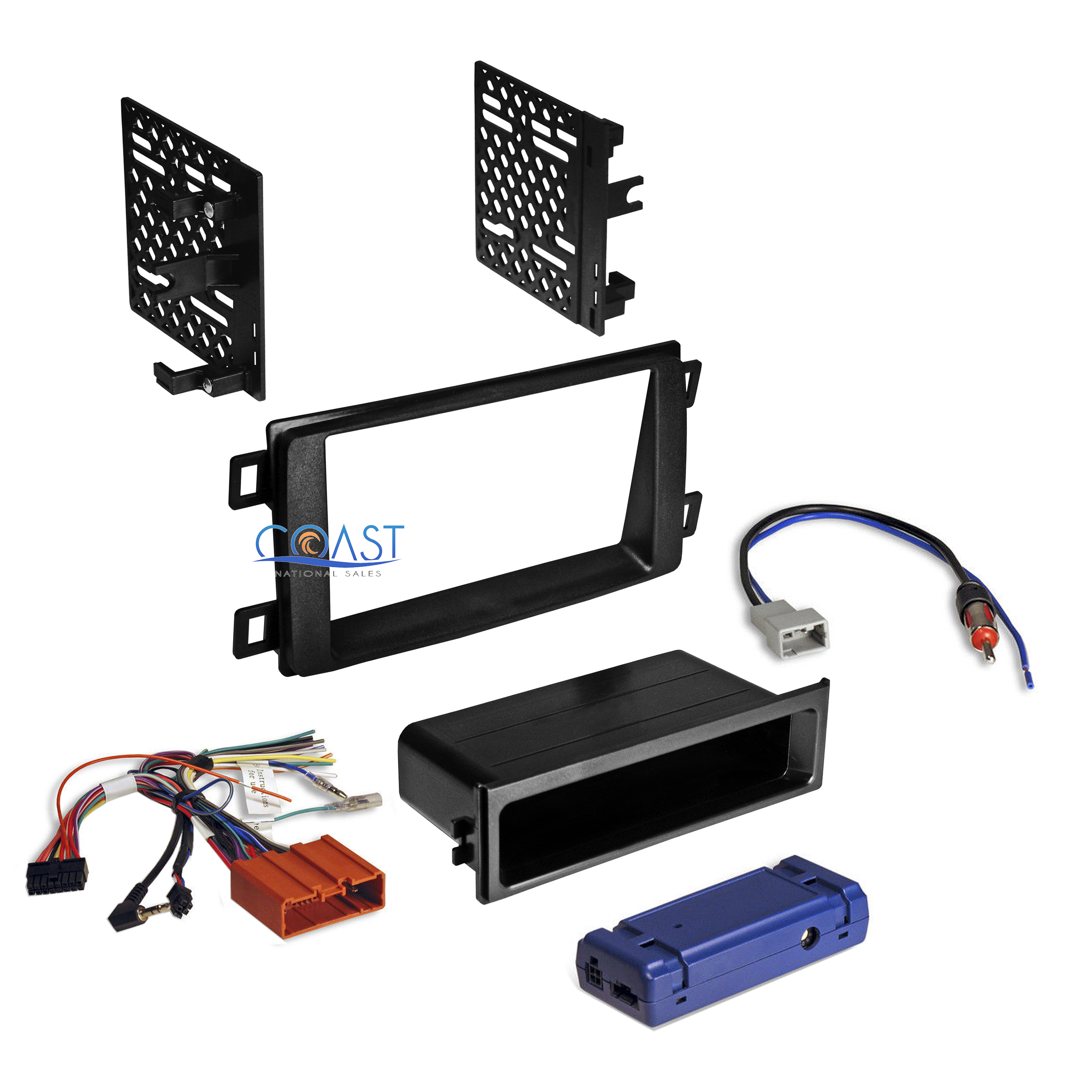 2003 Mazda Protege Radio Wiring: Car Radio Stereo Double Din Dash Kit Wiring Harness For