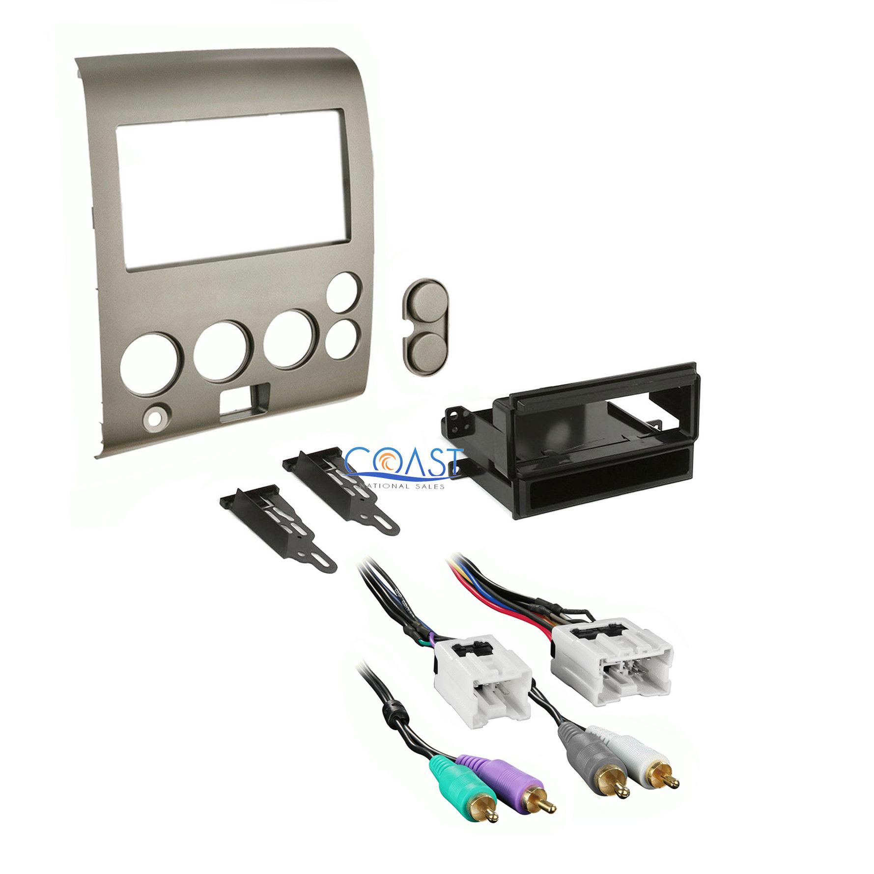 Car radio stereo dash kit harness for  nissan