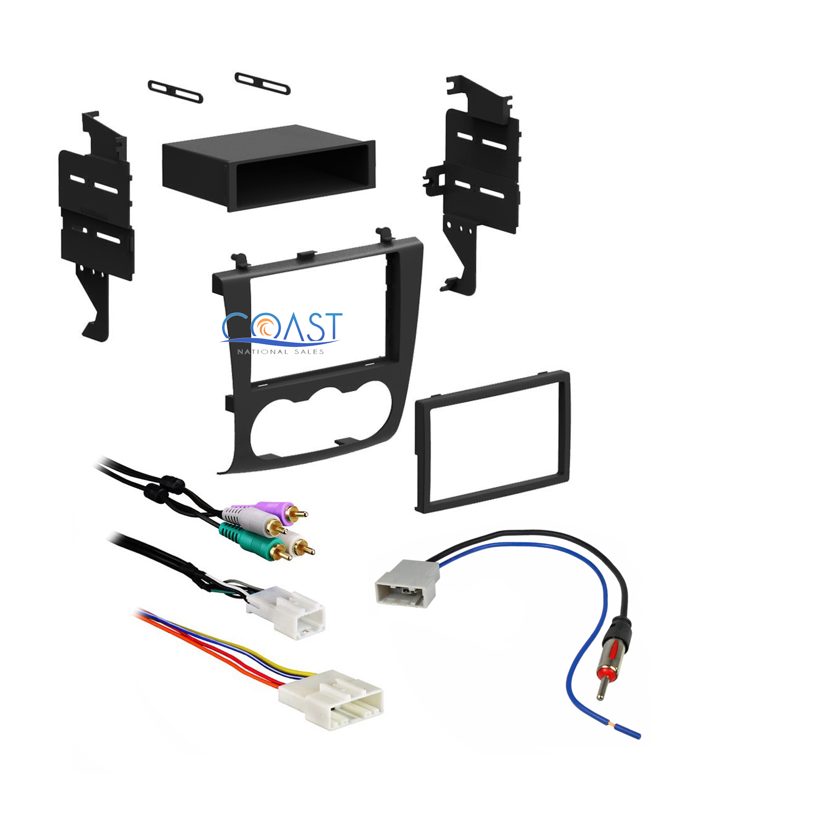 bose car stereo wiring diagrams car stereo double din dash kit bose wiring harness antenna ... #7