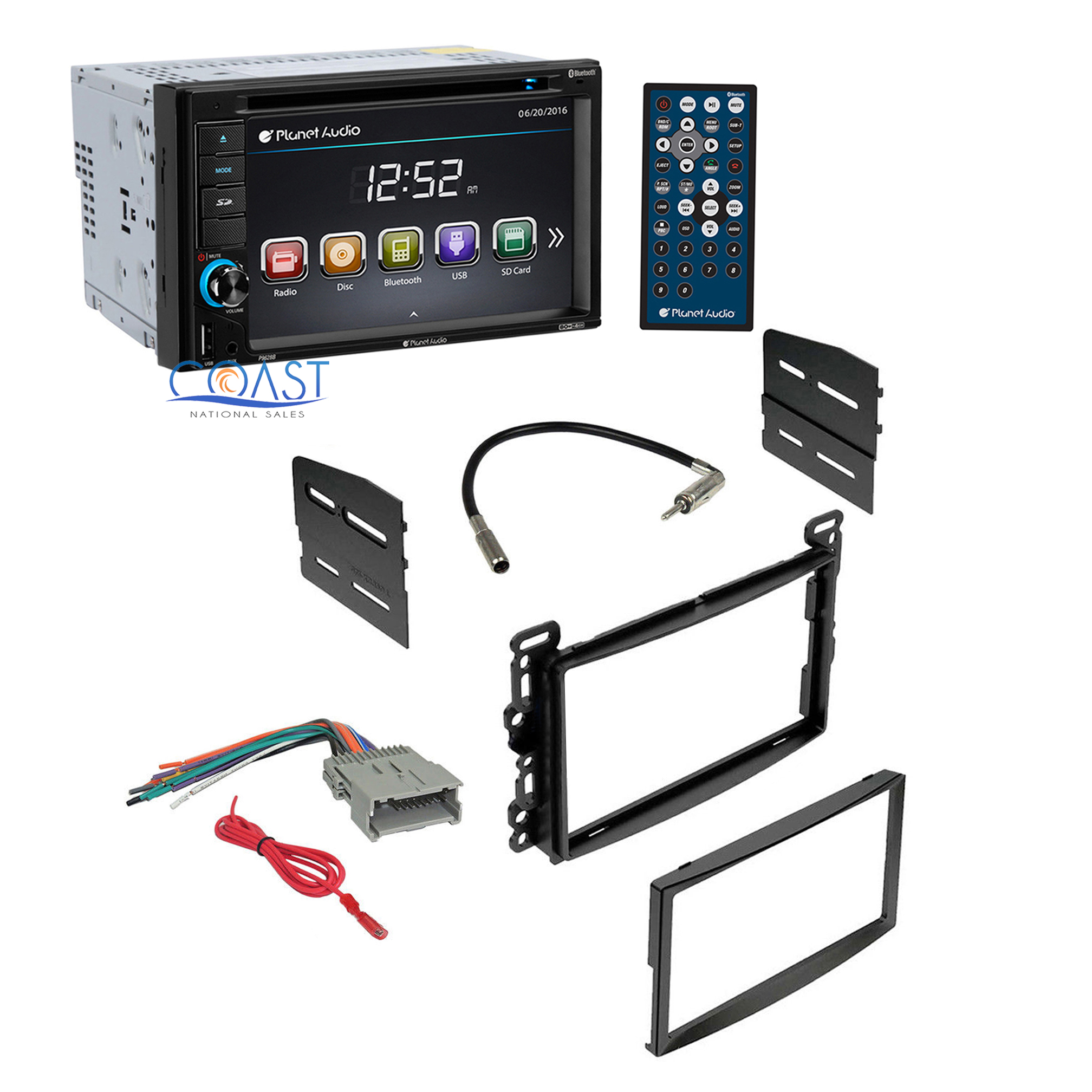 planet audio car radio stereo dash kit harness for 2004. Black Bedroom Furniture Sets. Home Design Ideas
