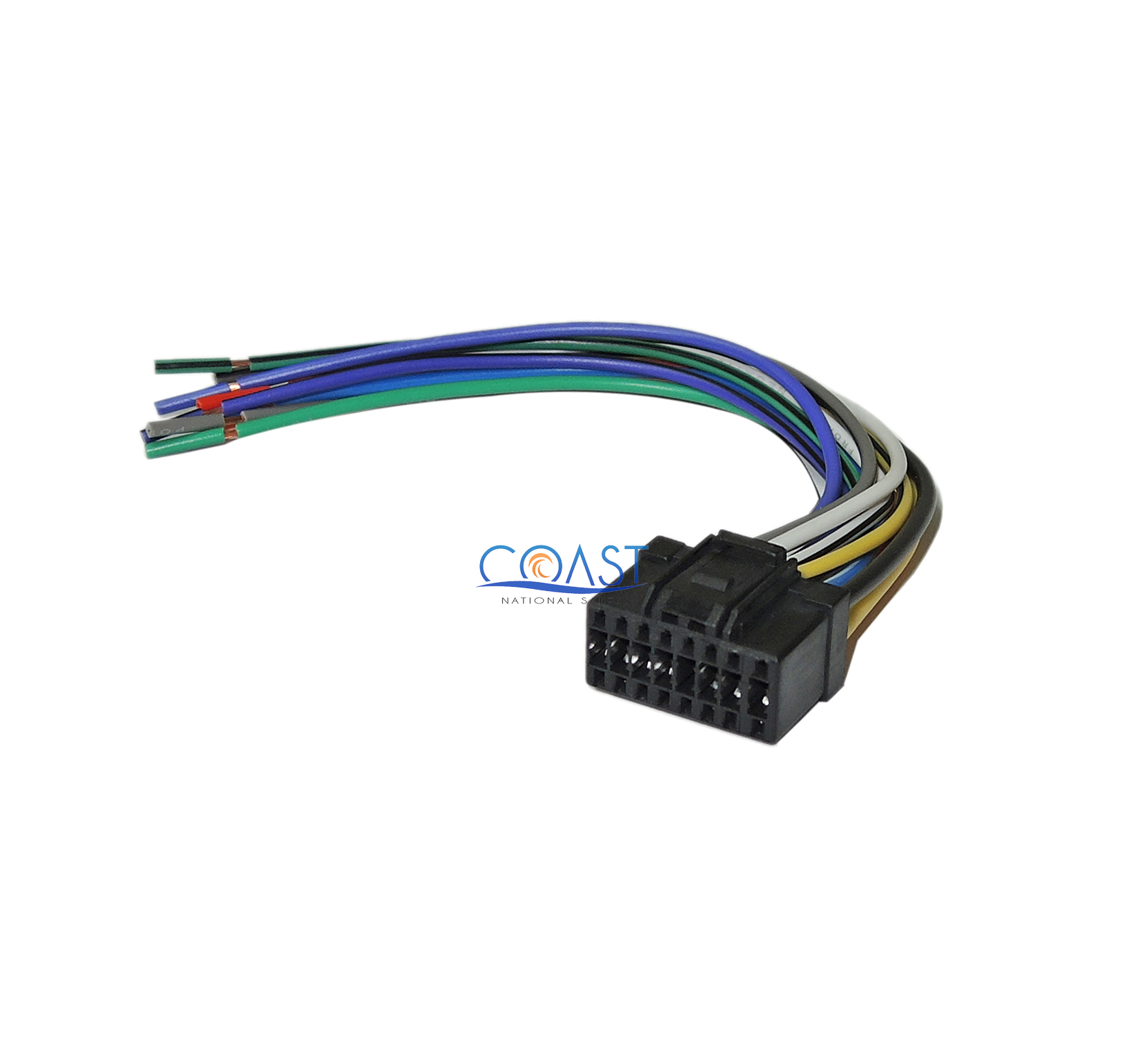 replacement wire harness pins 16-pin replacement wiring harness for 2006-up pioneer car ... nissan wiring harness pins