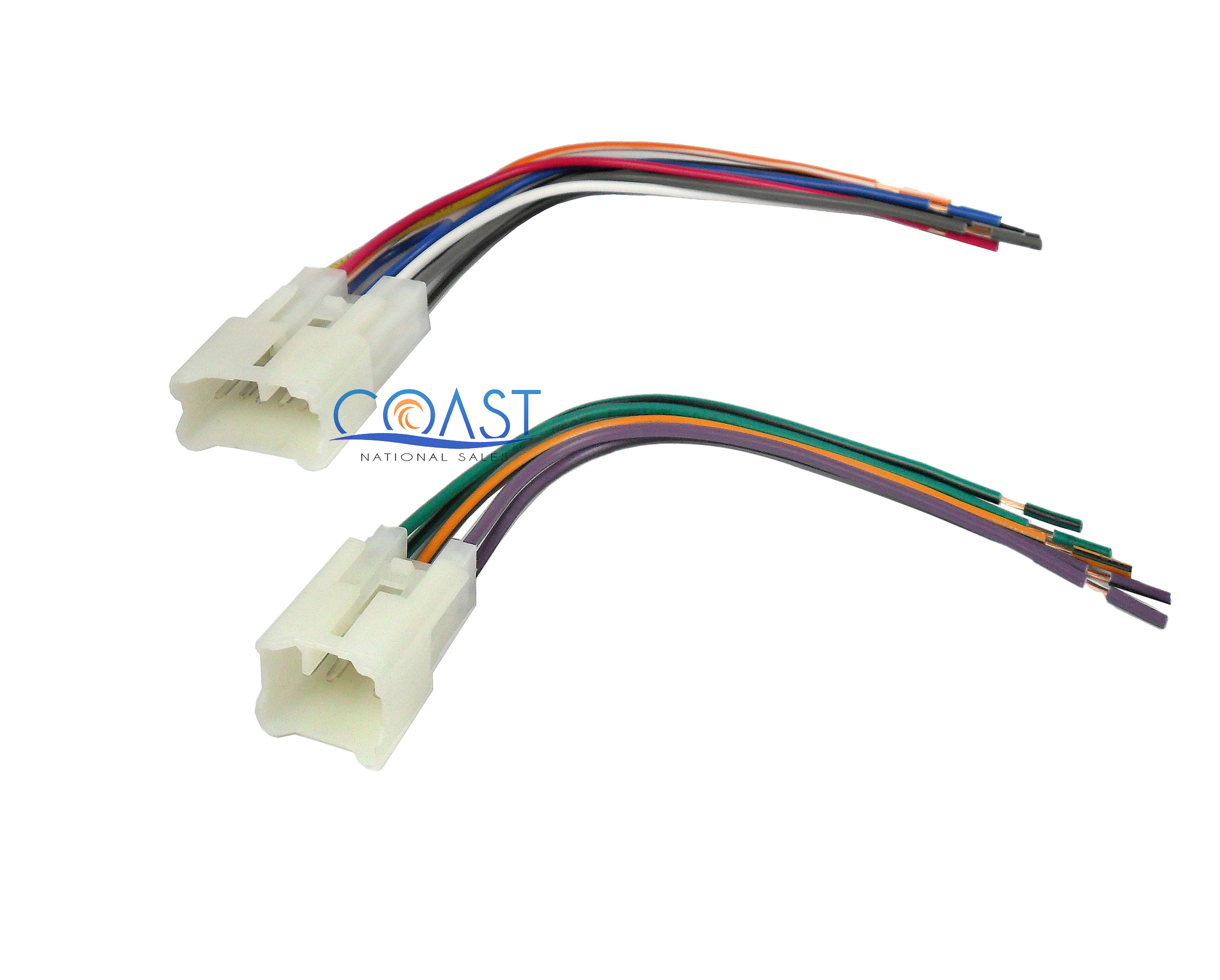 integration stereo radio wiring harness for 1987 2007