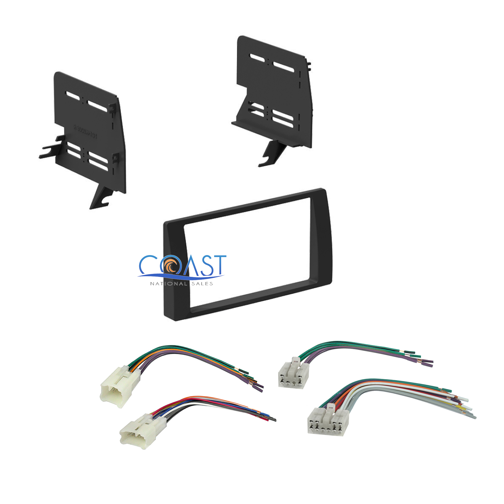 Xscorpion car stereo mounting dash kit 14