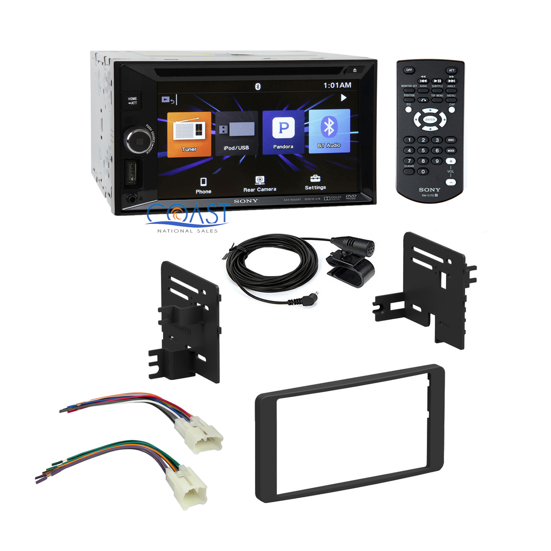 Tundra Radio Wiring Harness : Sony car radio stereo dash kit wire harness for