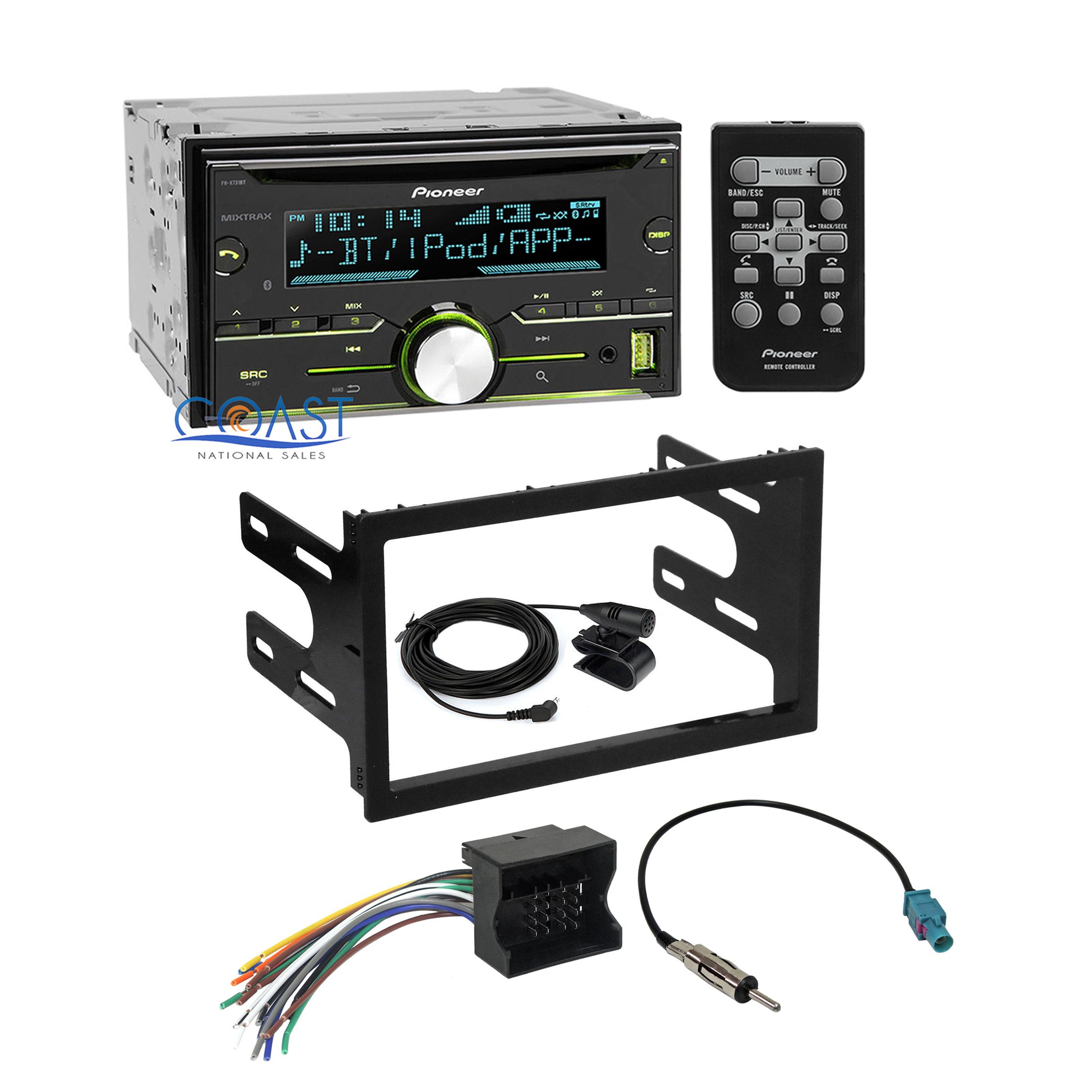 Jetta Radio Wiring Harness : Pioneer car radio stereo dash kit wire harness for