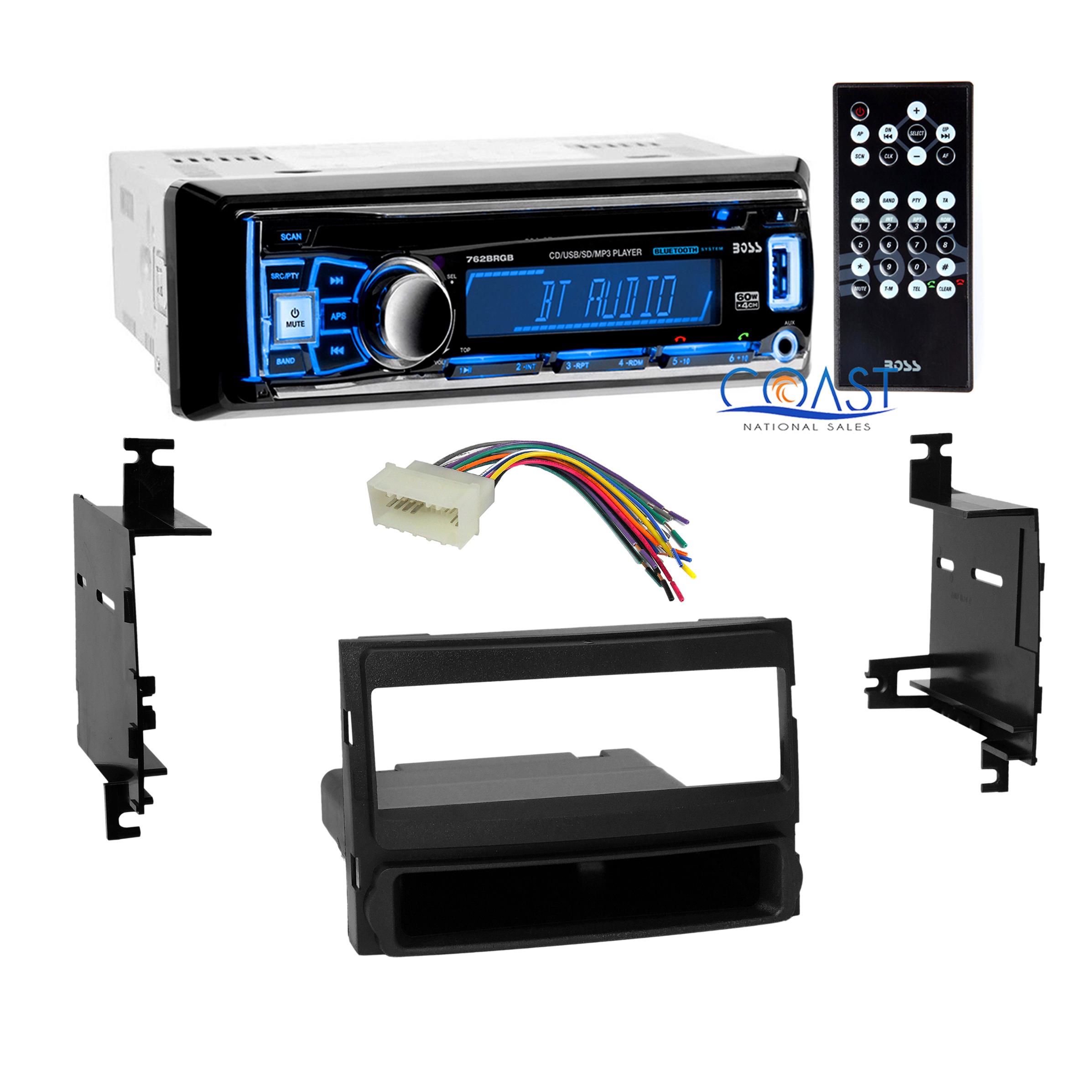 Boss Car Radio Stereo Bluetooth Dash Kit Harness For 2007