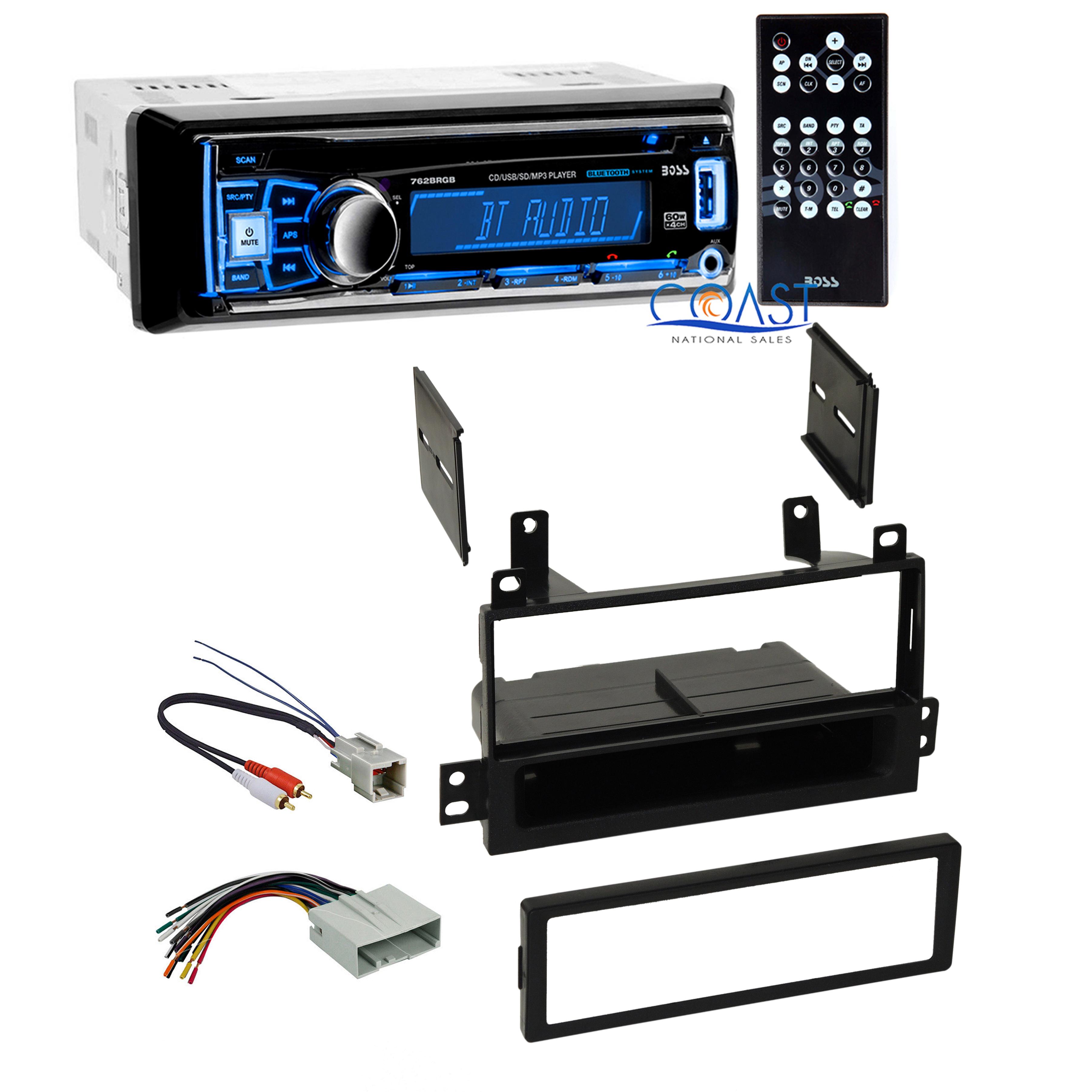 Boss Car Radio Stereo Bluetooth Dash Kit Harness For 2003