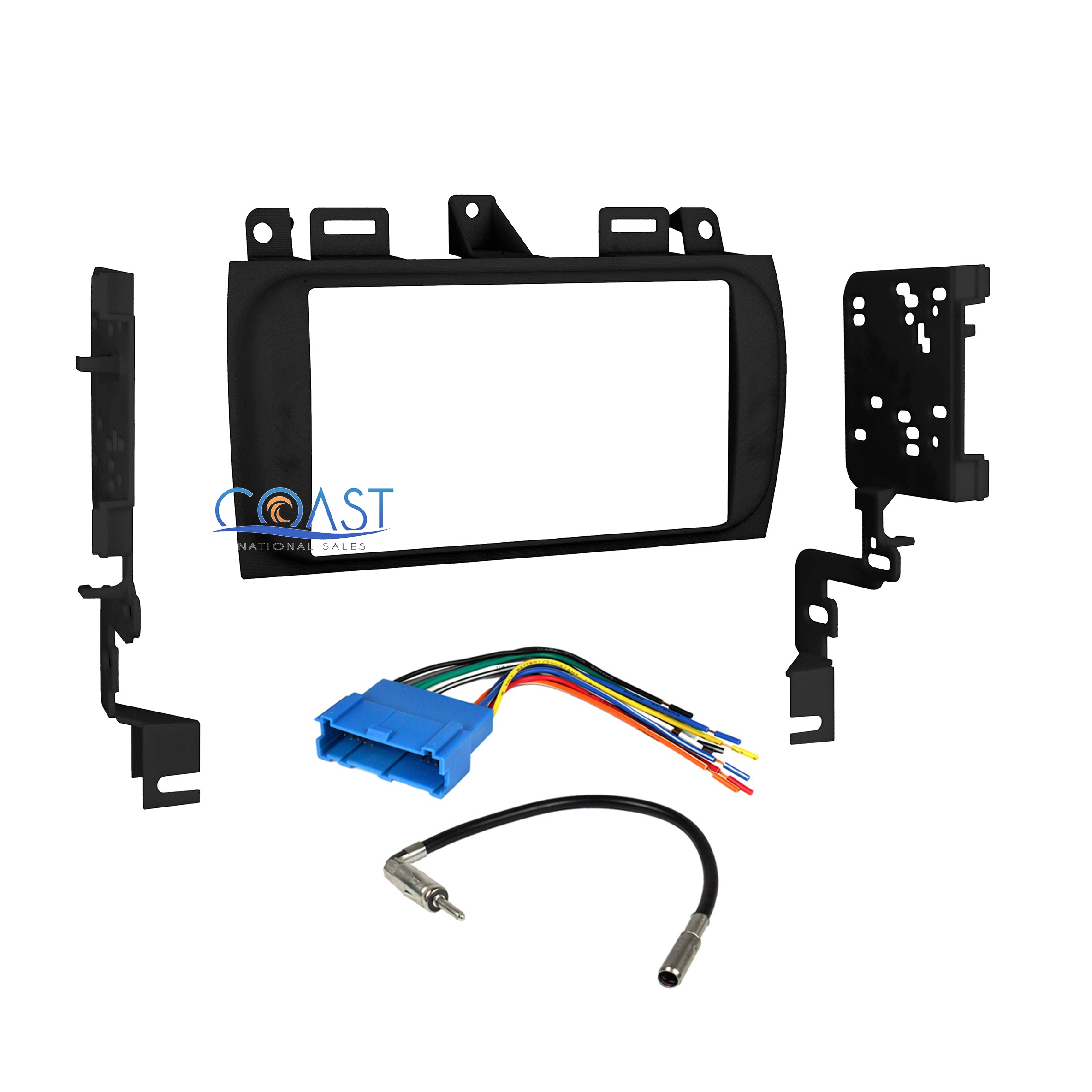 Car Radio Stereo Double Din Dash Kit Wire Harness for 40 40 ...