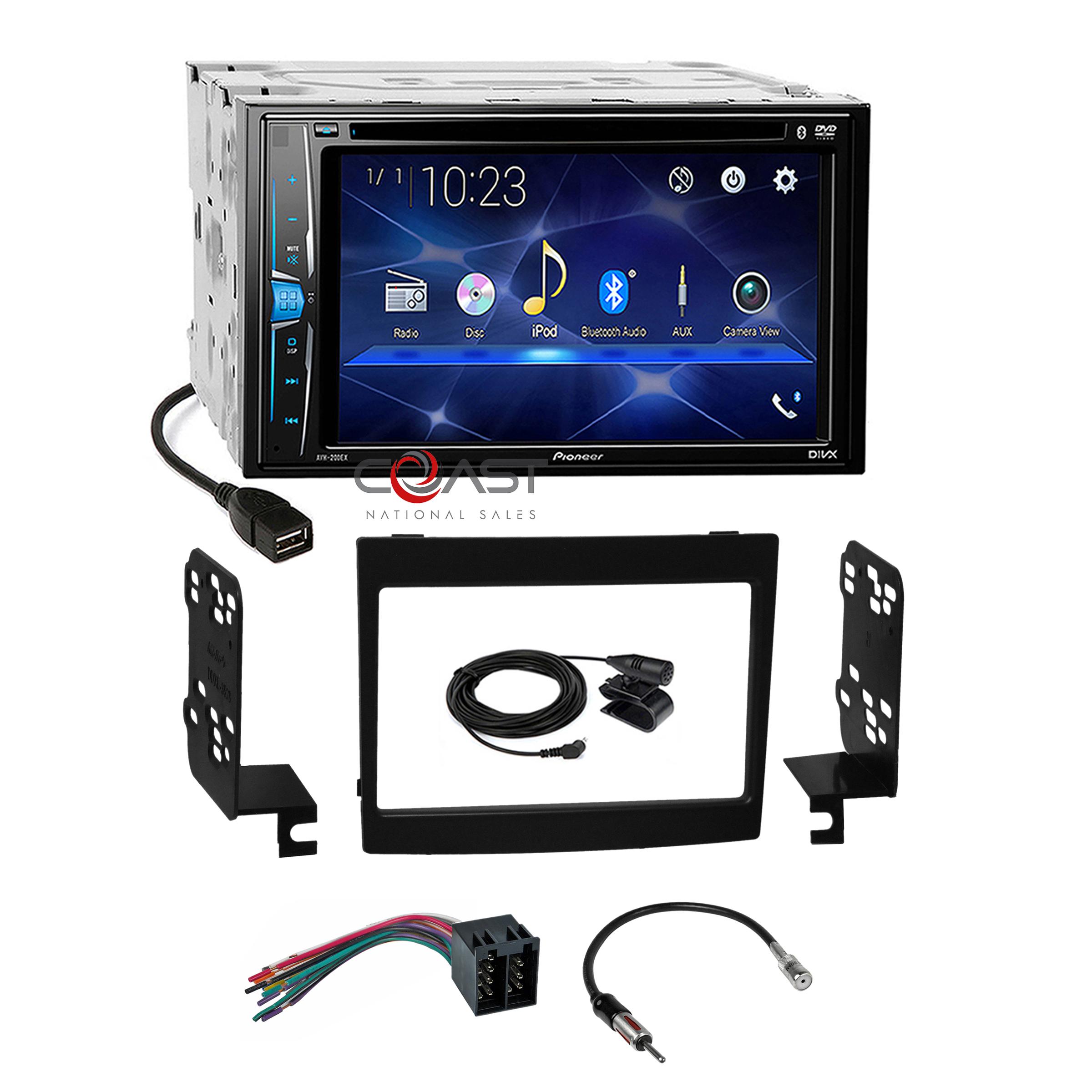 Pioneer DVD BT Camera Input Stereo Dash Kit Wire Harness for 04-06 Pontiac  GTO | eBayeBay