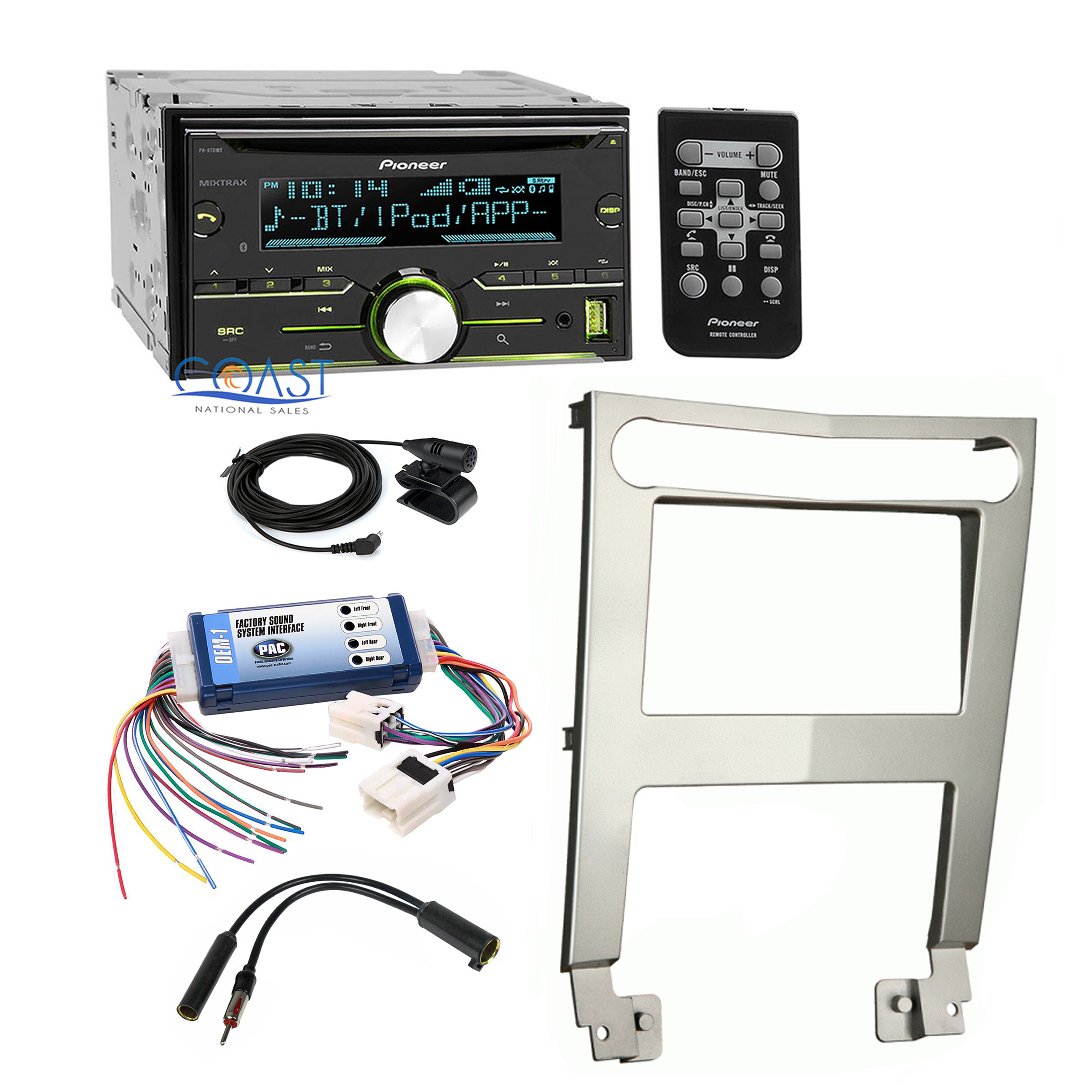 details about pioneer car stereo dash kit bose wire harness interface for 04 06 nissan maxima Ford Radio Wiring Harness