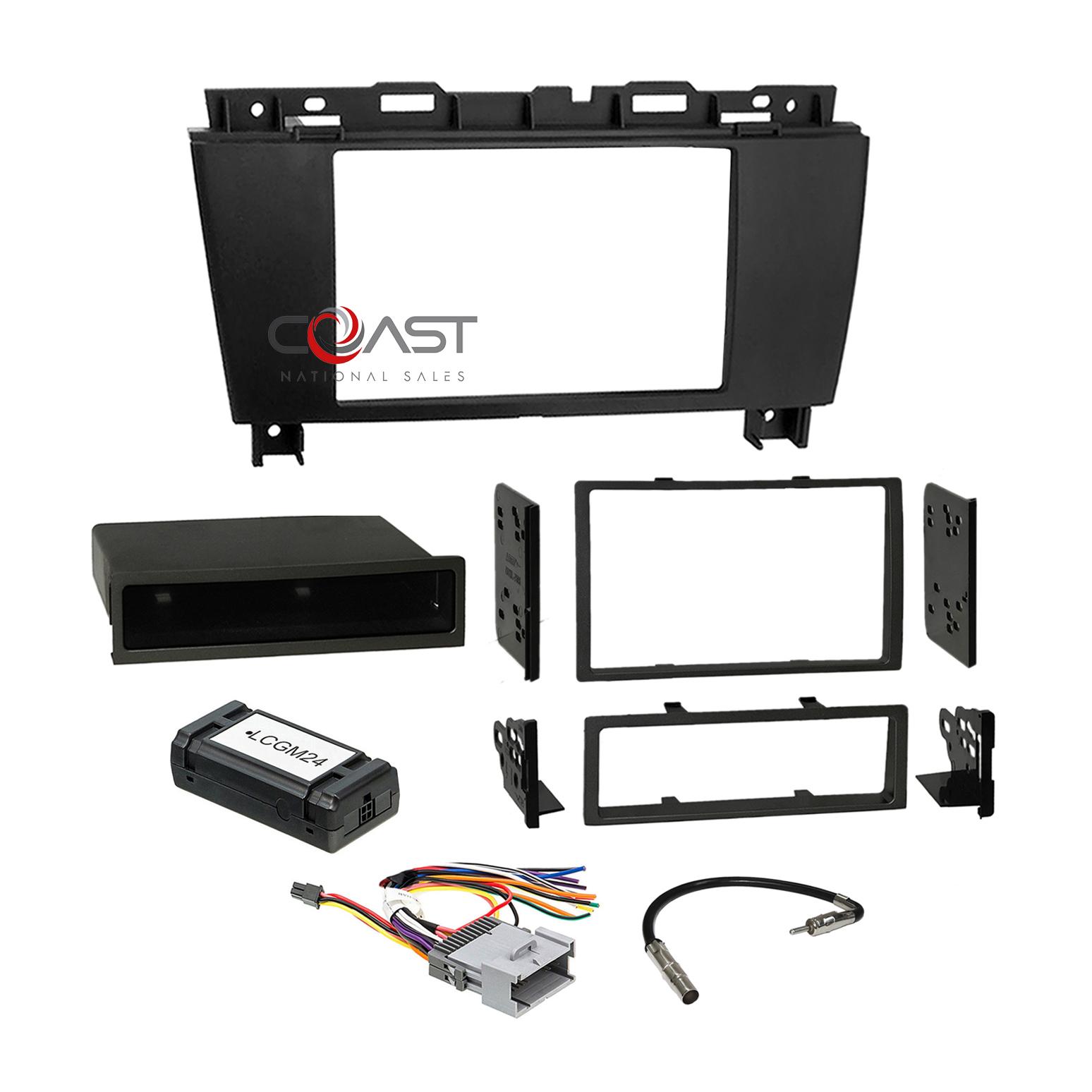 Car Radio Stereo Dash Kit Standard Bose Wire Harness for 2005-09 ... 2001 buick lesabre radio wiring diagram eBay