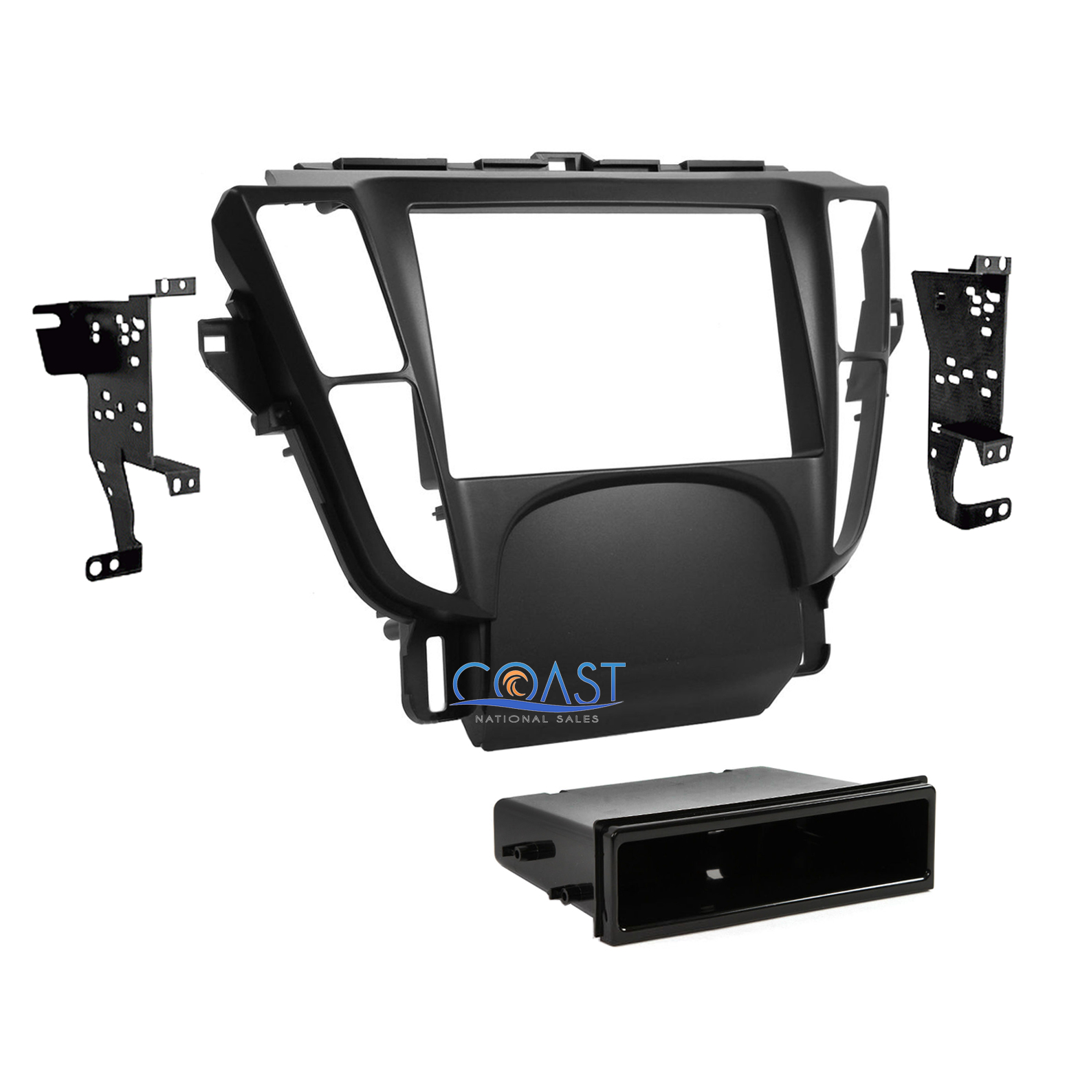Car Radio Stereo Single Double Din Install Dash Kit For