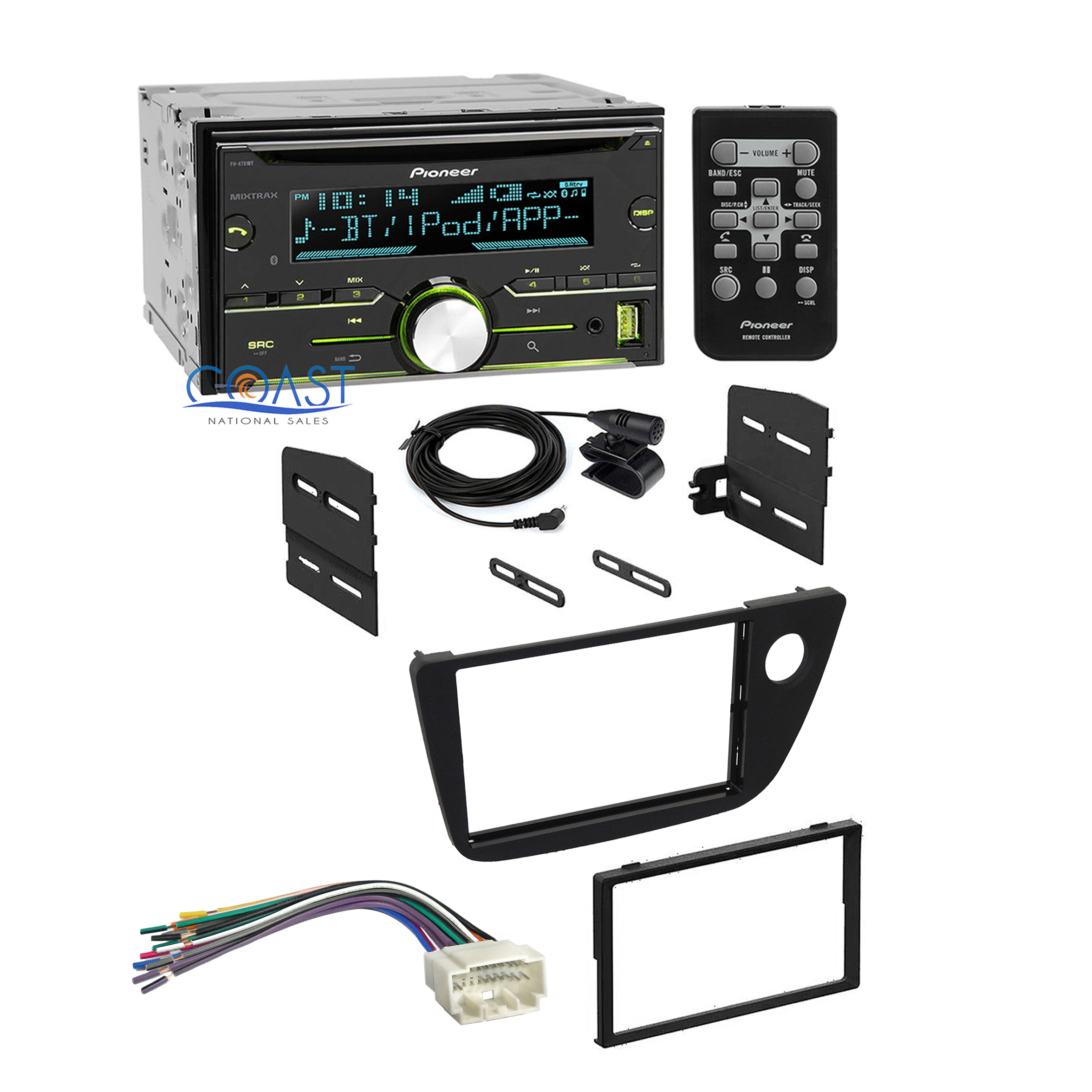 Stereo Wiring Harness 2006 Diagrams Ford Adapter 2 Pioneer Radio Double Din Dash Kit Diagram Explorer 2004 Buick Rendezvous