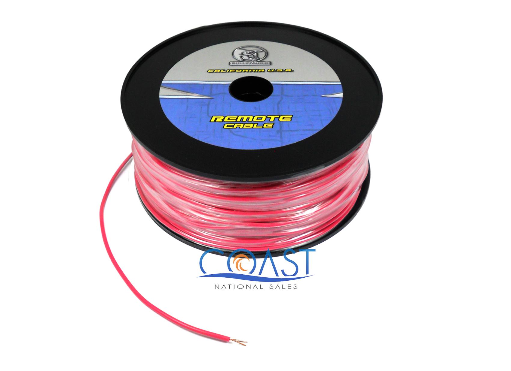 Stinger 1//0 Gauge Red 50 Foot Spool Power Ground Wire Car Home Audio SSVLP0R